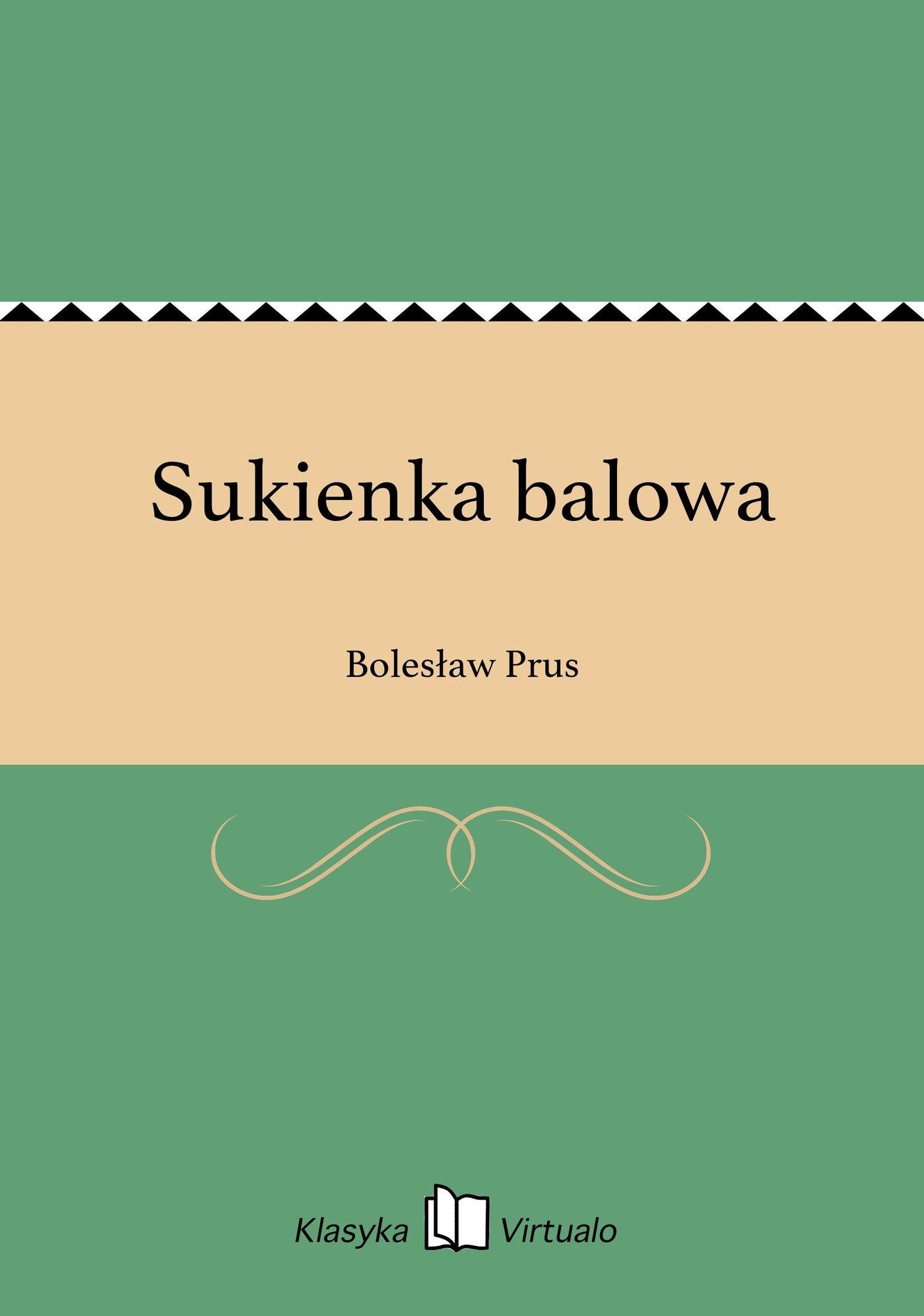 Sukienka balowa - Ebook (Książka EPUB) do pobrania w formacie EPUB