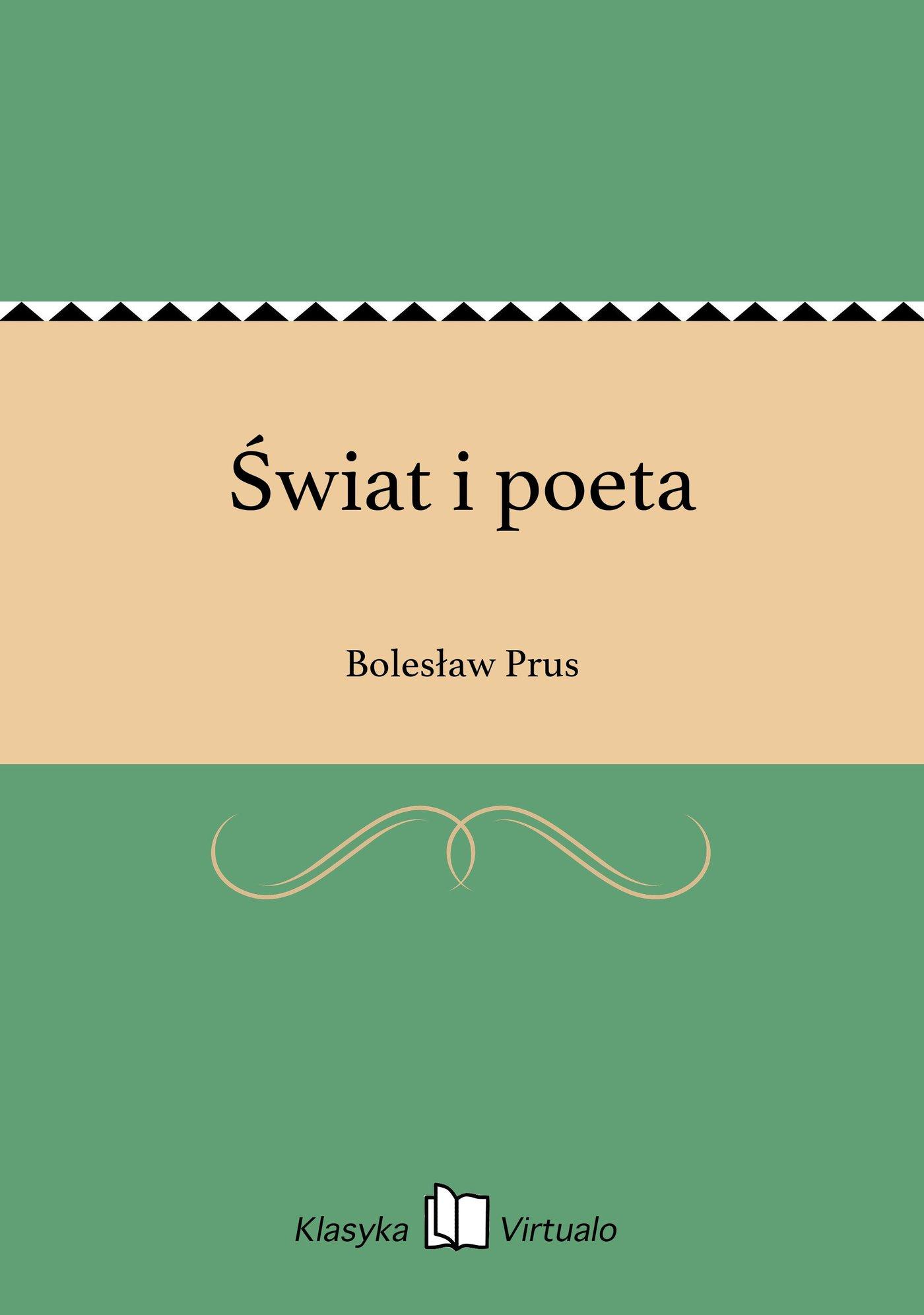 Świat i poeta - Ebook (Książka EPUB) do pobrania w formacie EPUB
