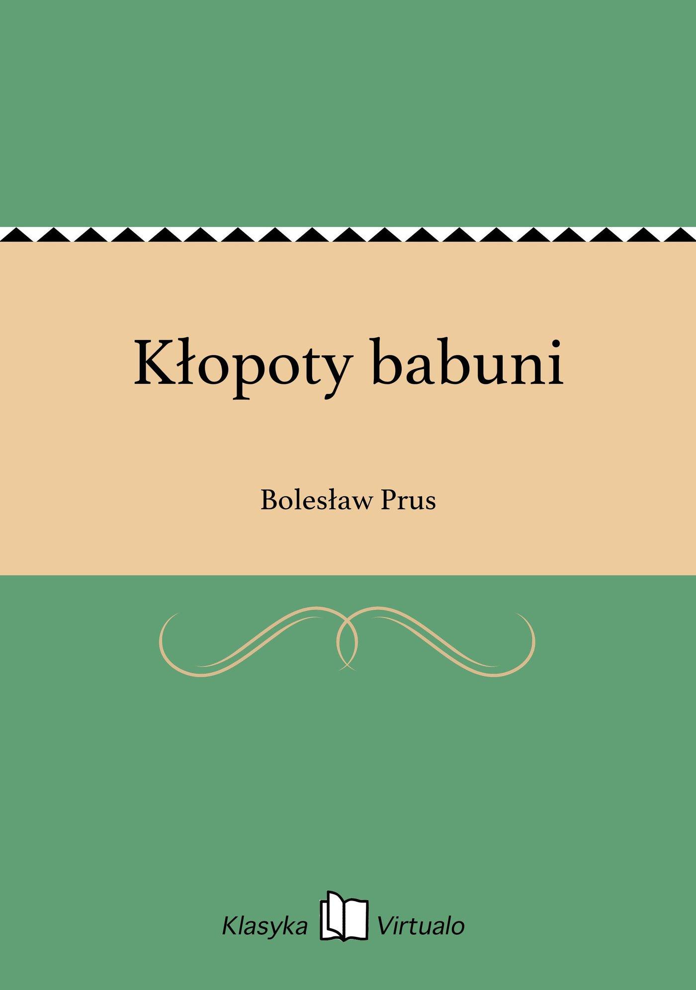 Kłopoty babuni - Ebook (Książka EPUB) do pobrania w formacie EPUB