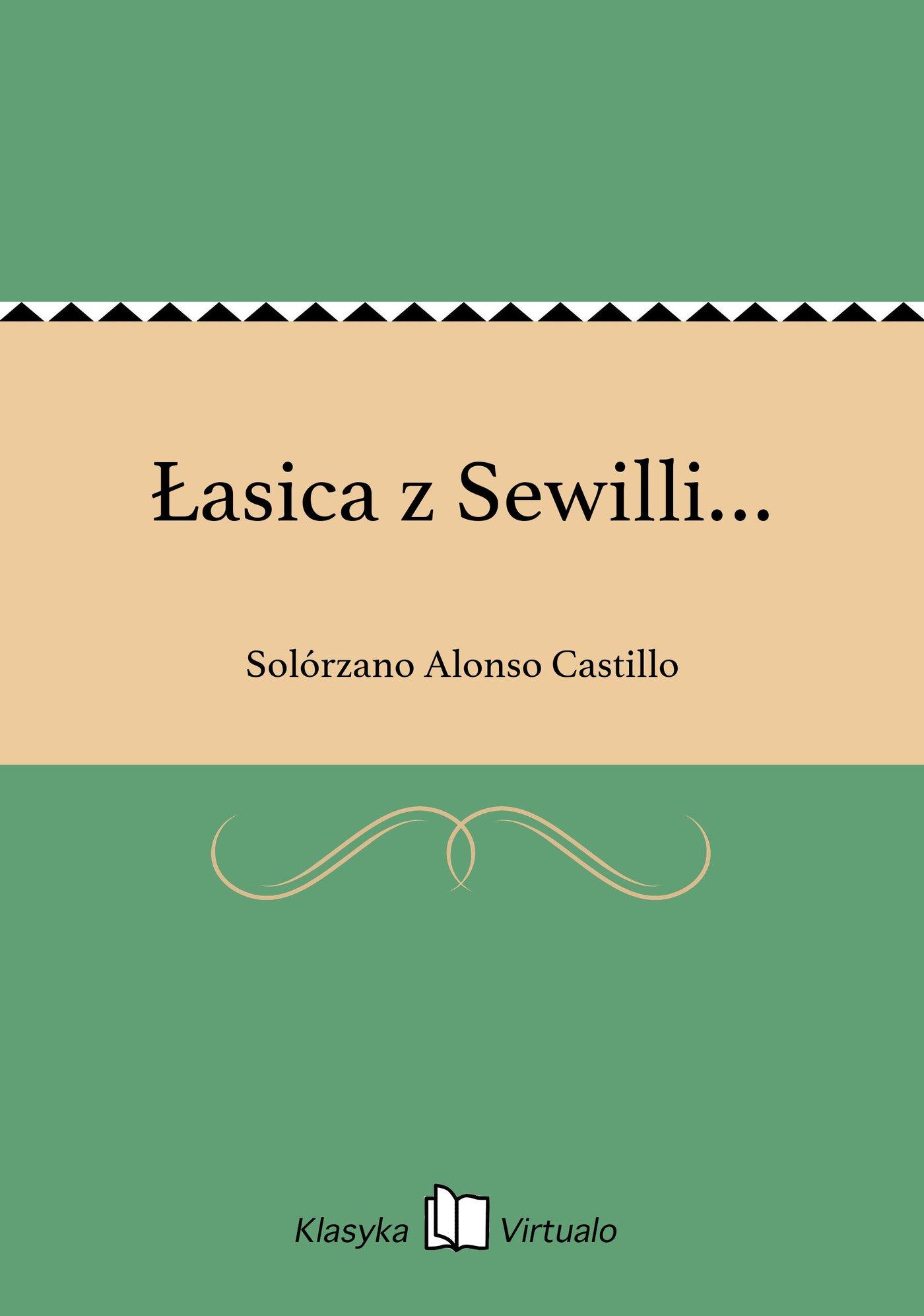 Łasica z Sewilli… - Ebook (Książka EPUB) do pobrania w formacie EPUB
