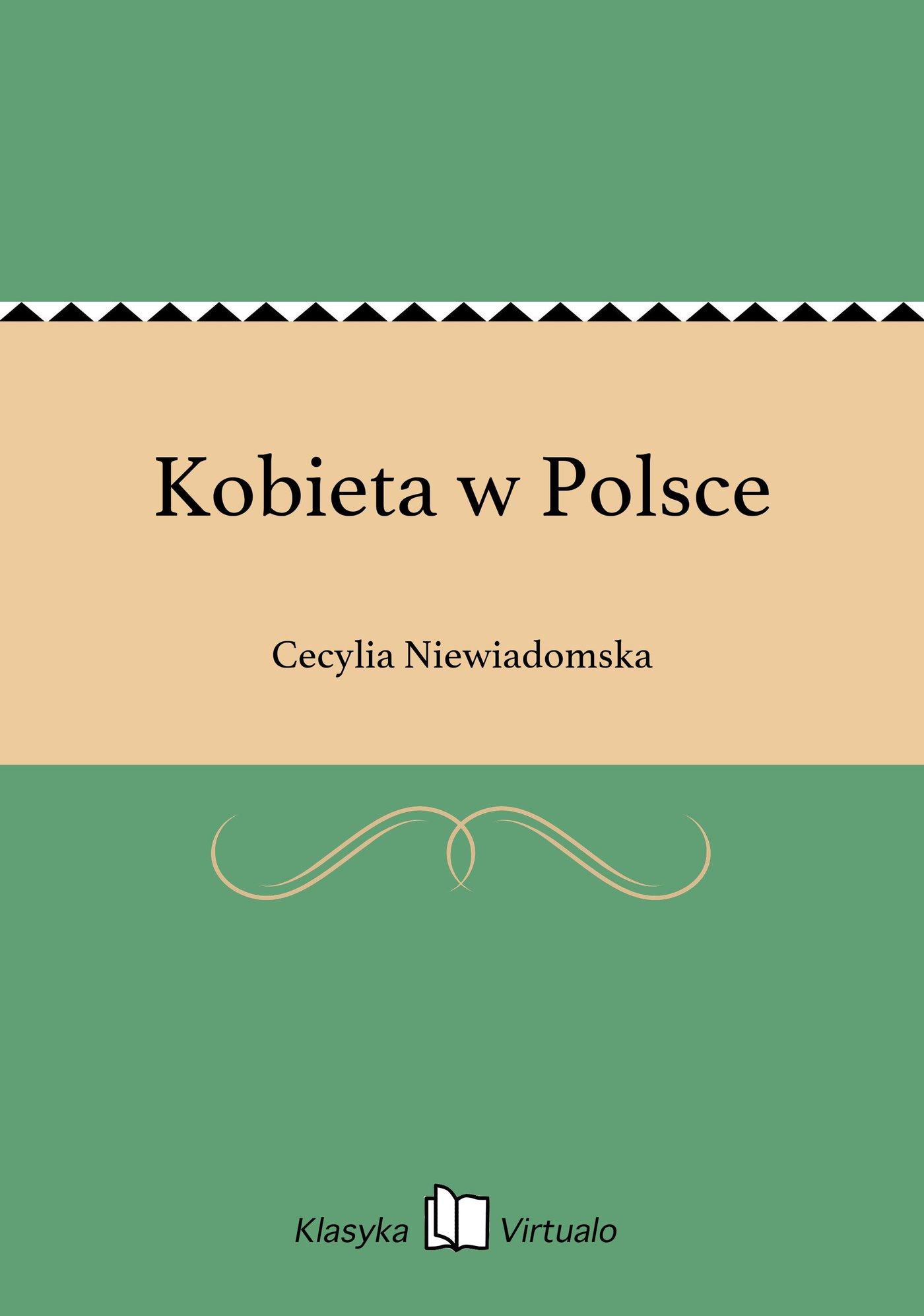 Kobieta w Polsce - Ebook (Książka EPUB) do pobrania w formacie EPUB