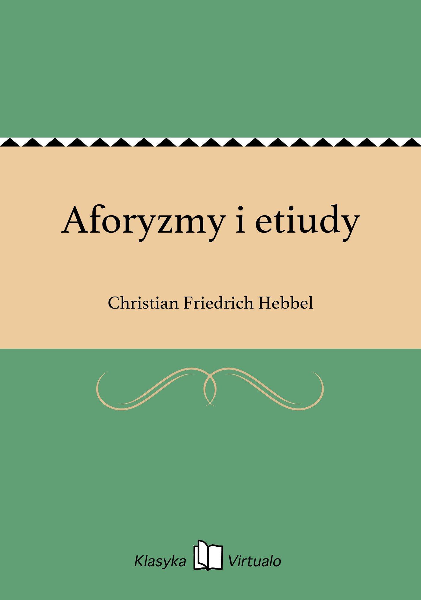 Aforyzmy i etiudy - Ebook (Książka EPUB) do pobrania w formacie EPUB