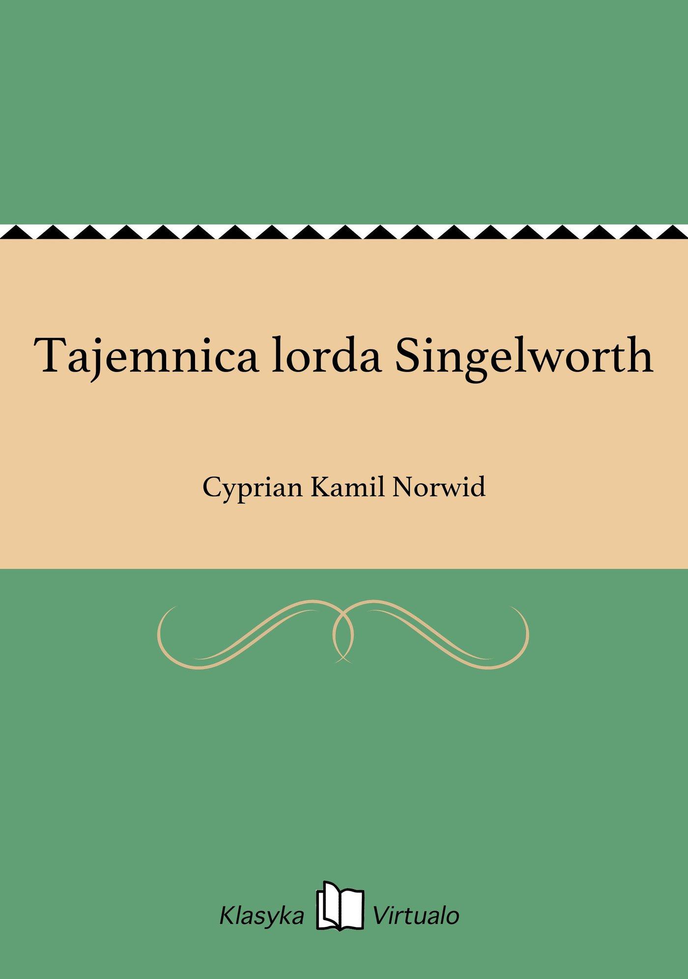 Tajemnica lorda Singelworth - Ebook (Książka EPUB) do pobrania w formacie EPUB