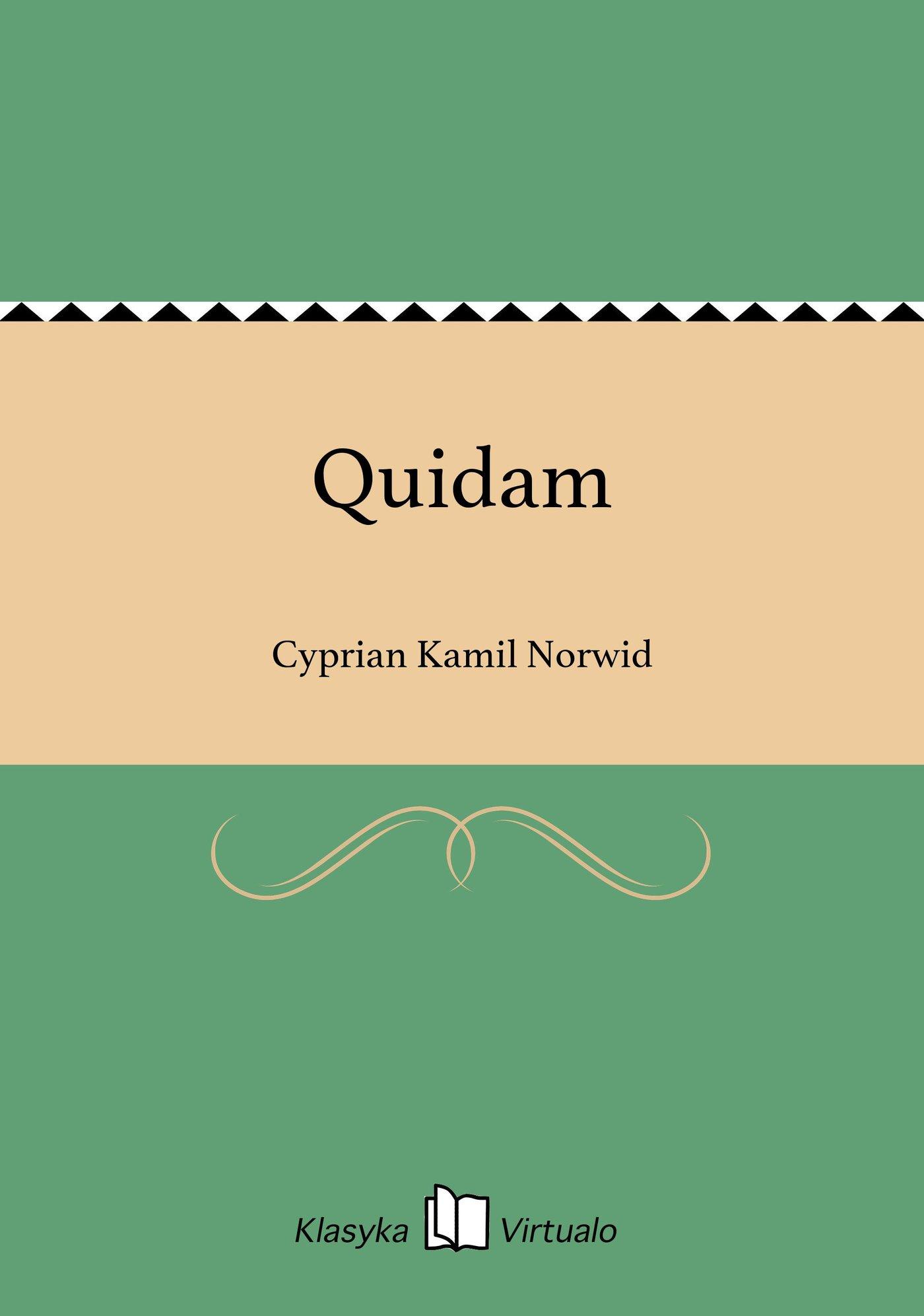 Quidam - Ebook (Książka EPUB) do pobrania w formacie EPUB