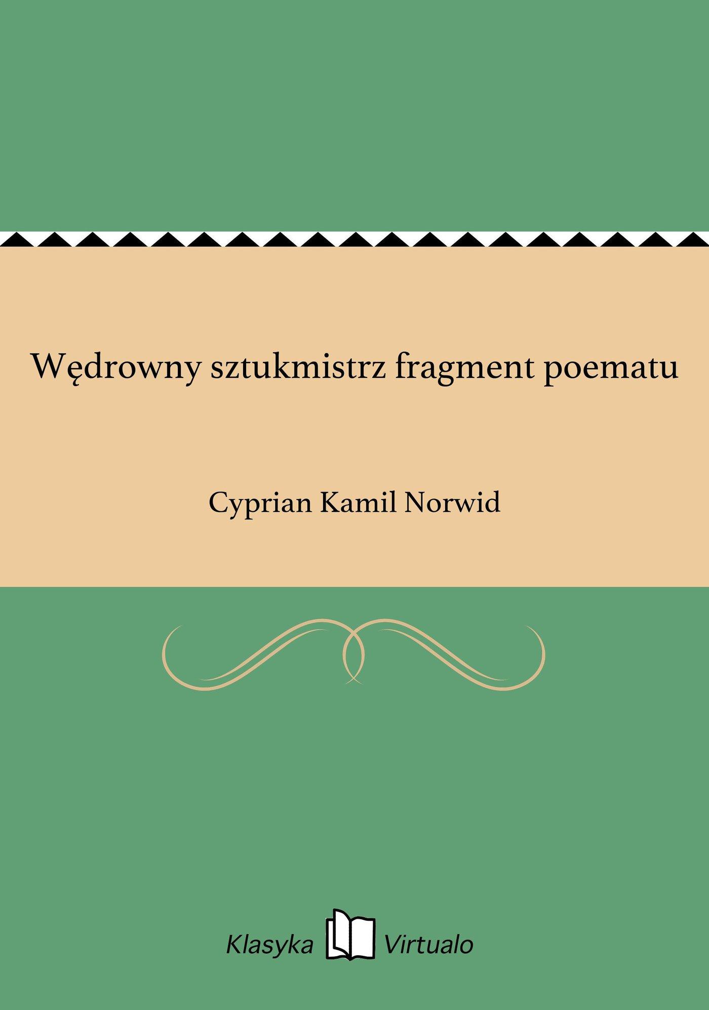 Wędrowny sztukmistrz fragment poematu - Ebook (Książka EPUB) do pobrania w formacie EPUB