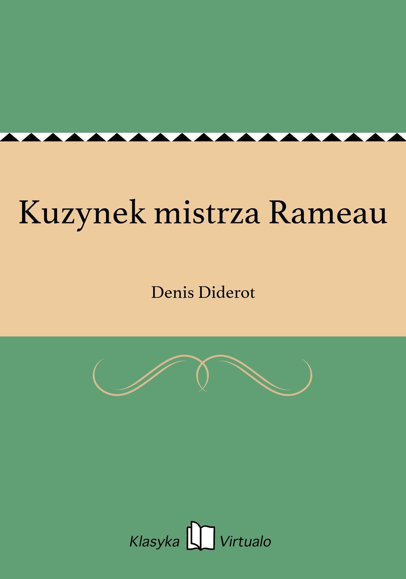 Kuzynek mistrza Rameau - Ebook (Książka EPUB) do pobrania w formacie EPUB