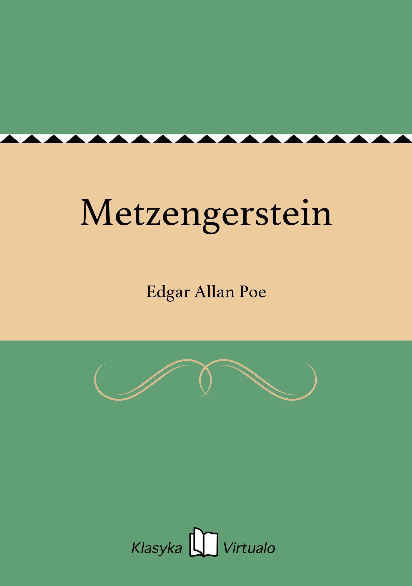Metzengerstein - Ebook (Książka EPUB) do pobrania w formacie EPUB