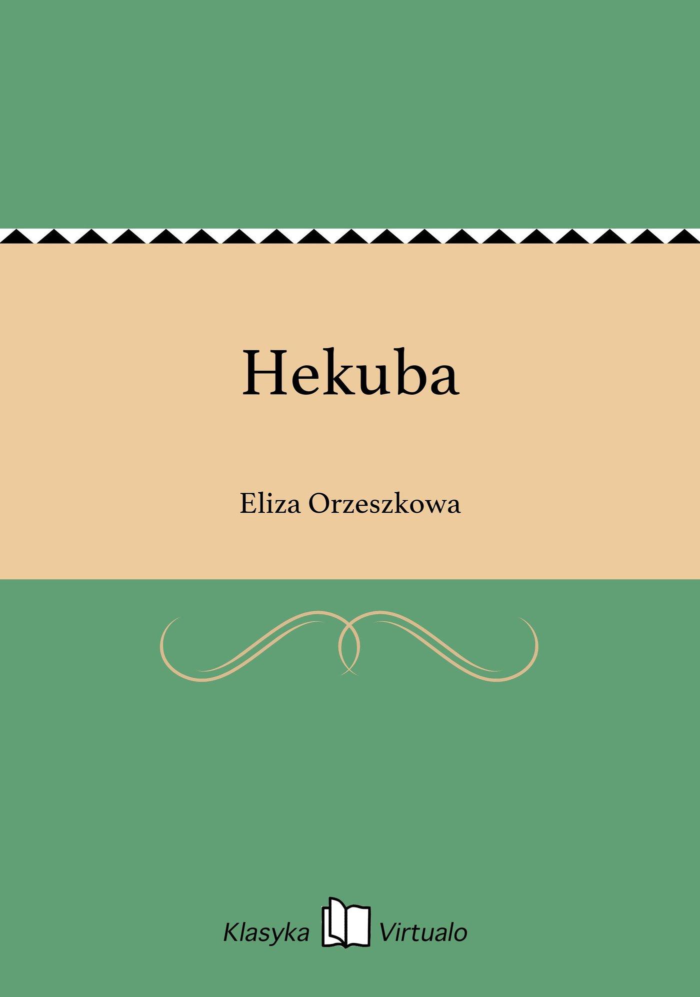Hekuba - Ebook (Książka EPUB) do pobrania w formacie EPUB