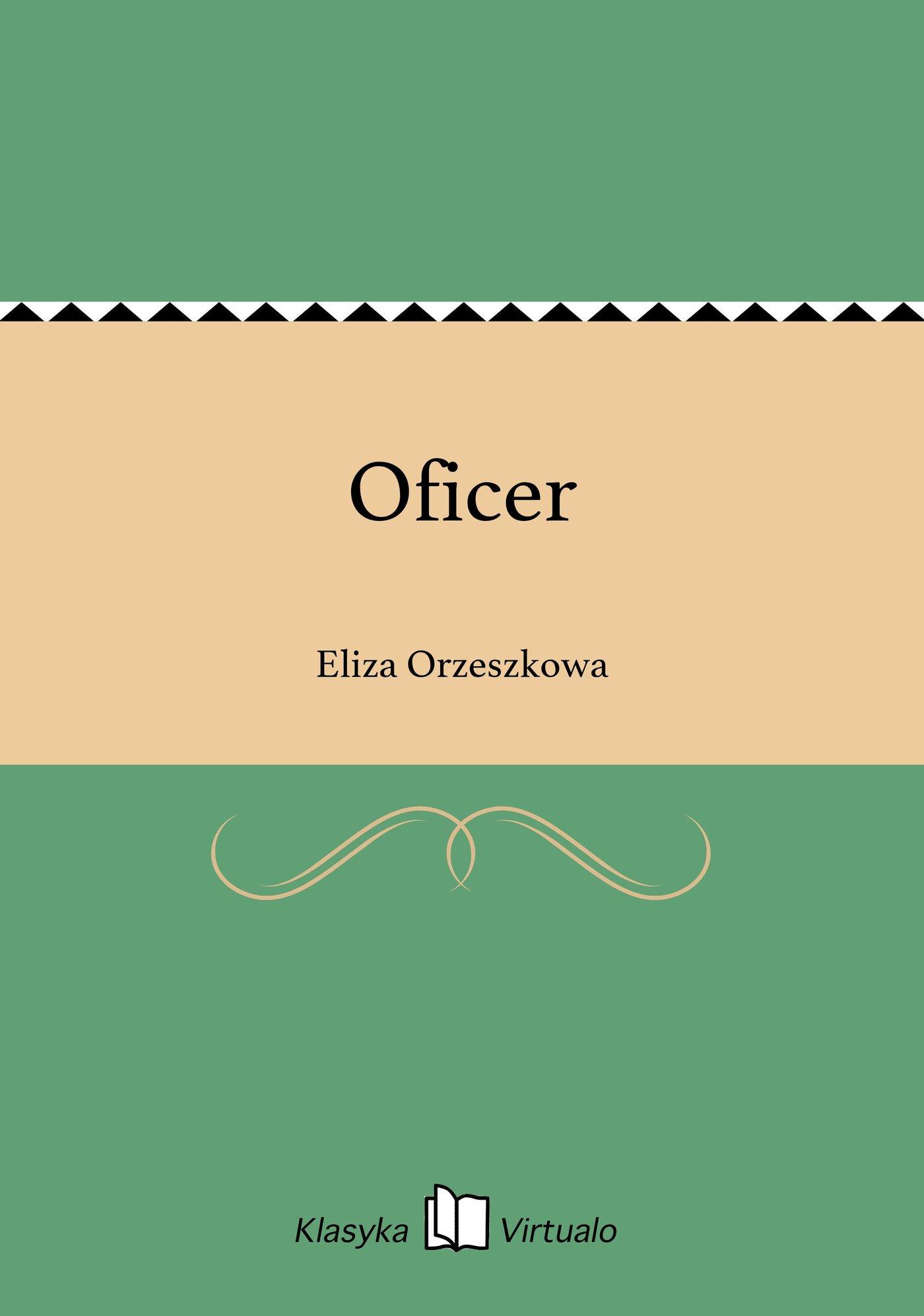 Oficer - Ebook (Książka EPUB) do pobrania w formacie EPUB