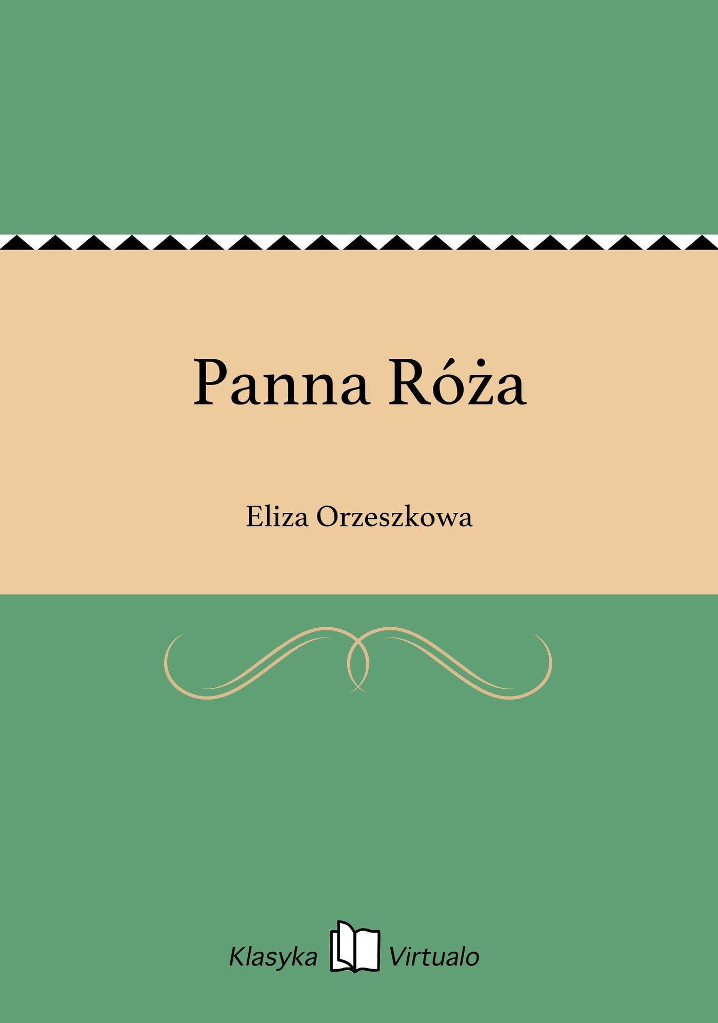 Panna Róża - Ebook (Książka EPUB) do pobrania w formacie EPUB