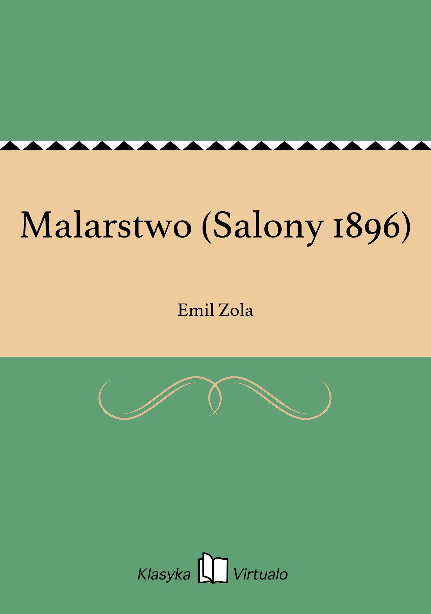 Malarstwo (Salony 1896) - Ebook (Książka EPUB) do pobrania w formacie EPUB