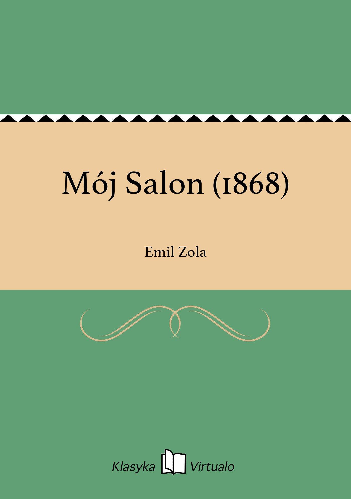 Mój Salon (1868) - Ebook (Książka EPUB) do pobrania w formacie EPUB