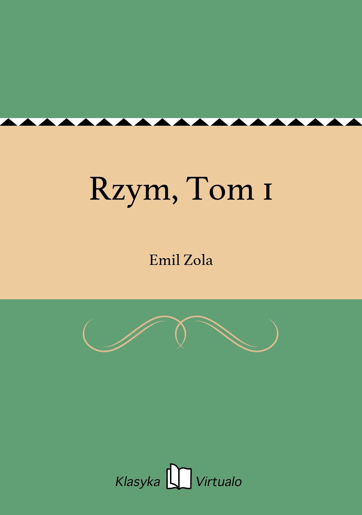 Rzym, Tom 1 - Ebook (Książka EPUB) do pobrania w formacie EPUB