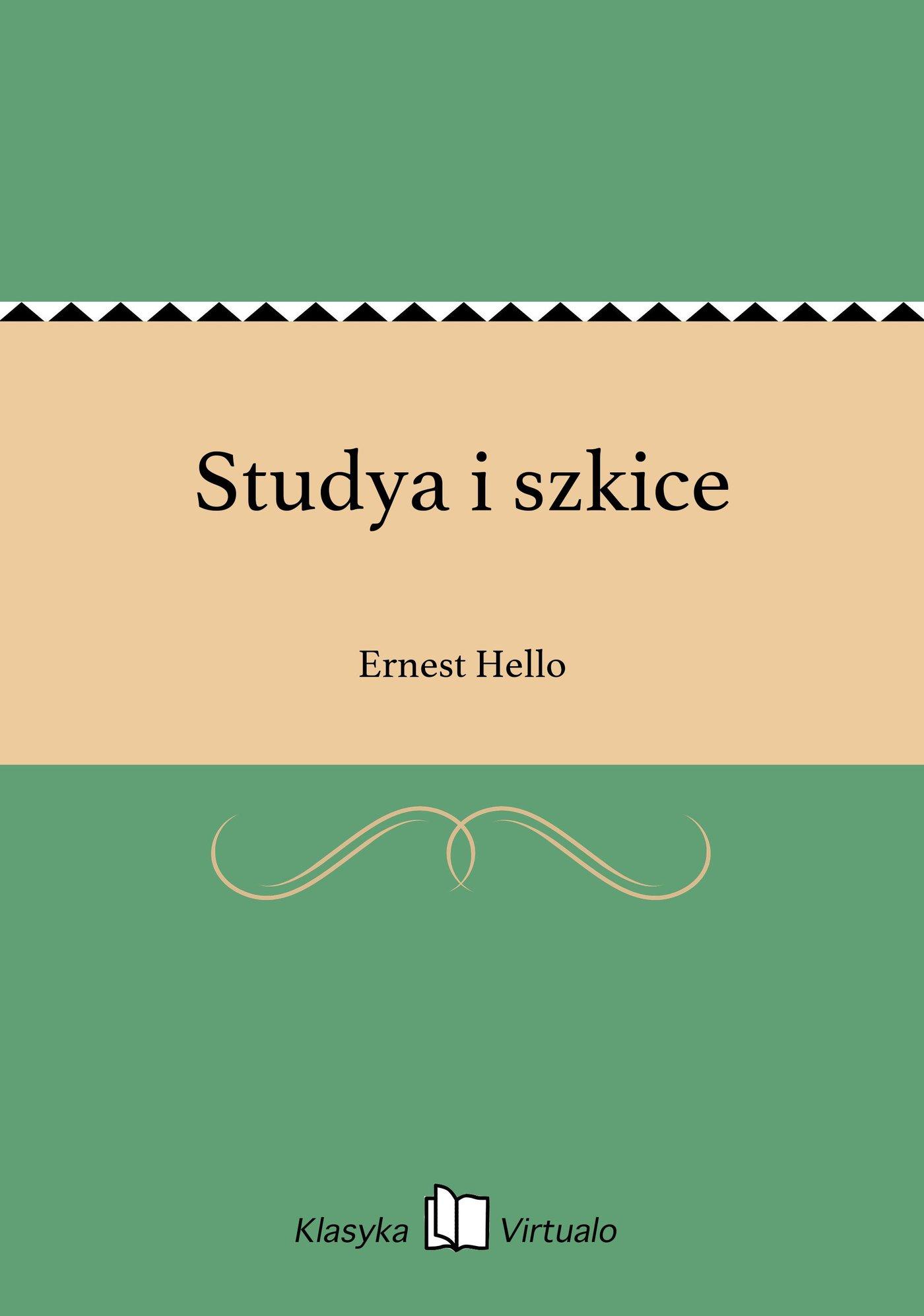 Studya i szkice - Ebook (Książka EPUB) do pobrania w formacie EPUB