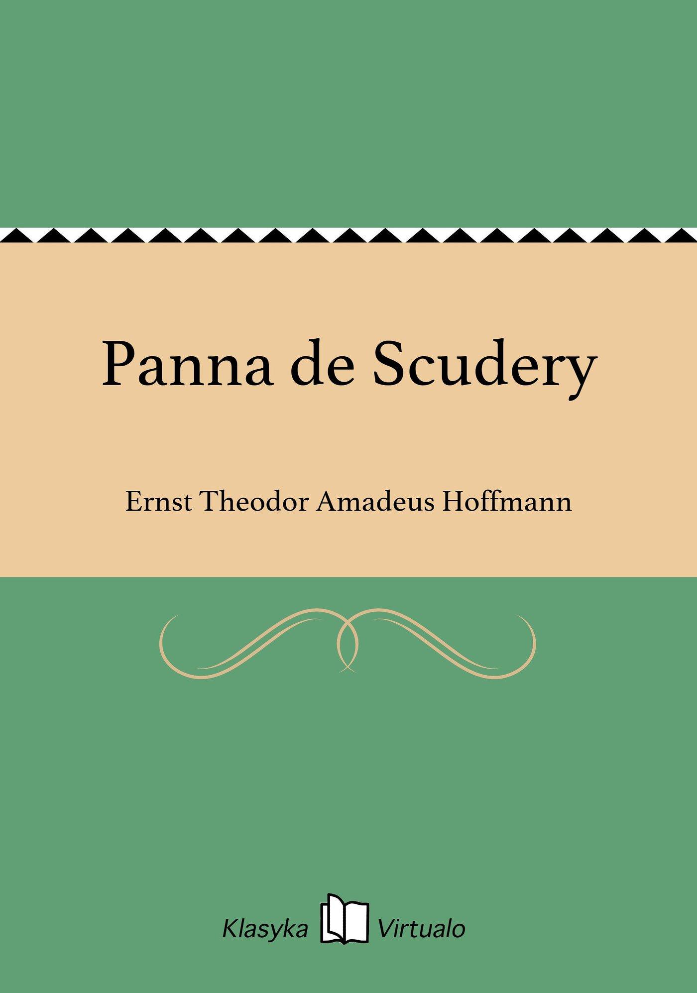 Panna de Scudery - Ebook (Książka EPUB) do pobrania w formacie EPUB