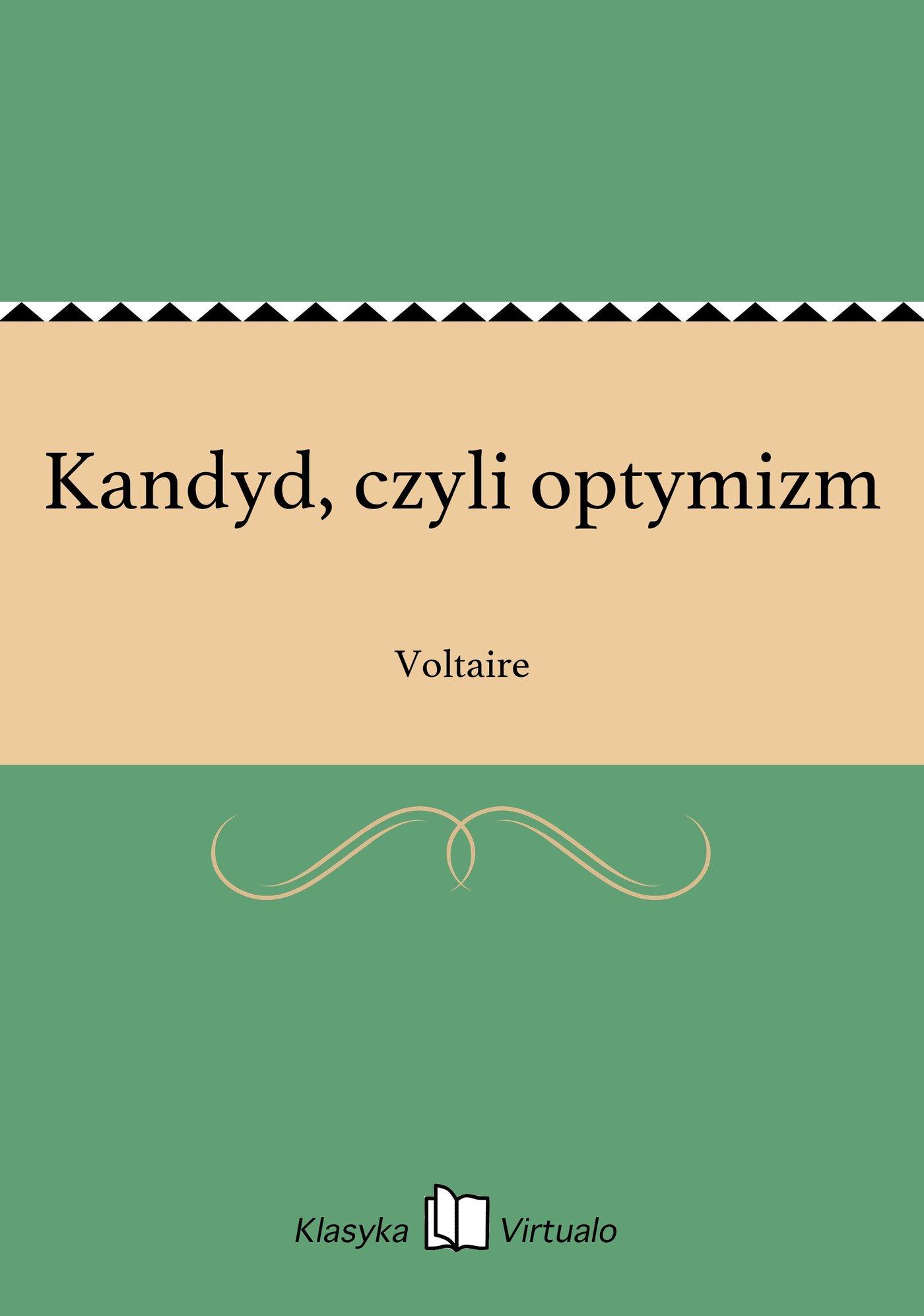 Kandyd, czyli optymizm - Ebook (Książka EPUB) do pobrania w formacie EPUB