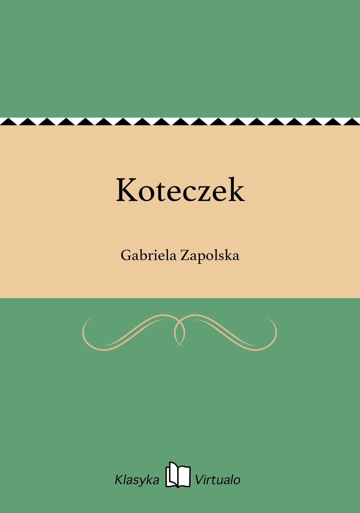 Koteczek - Ebook (Książka EPUB) do pobrania w formacie EPUB