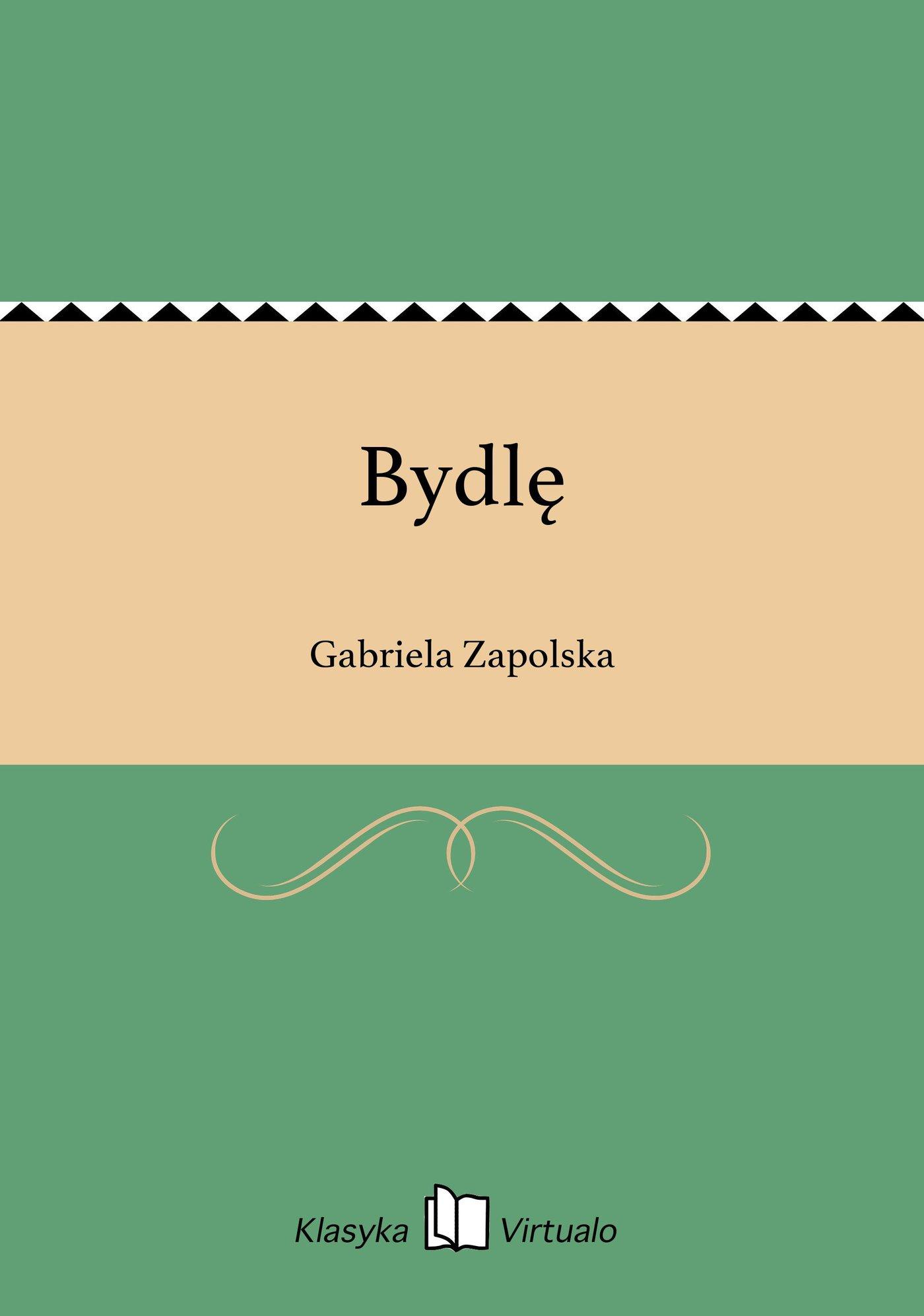 Bydlę - Ebook (Książka EPUB) do pobrania w formacie EPUB