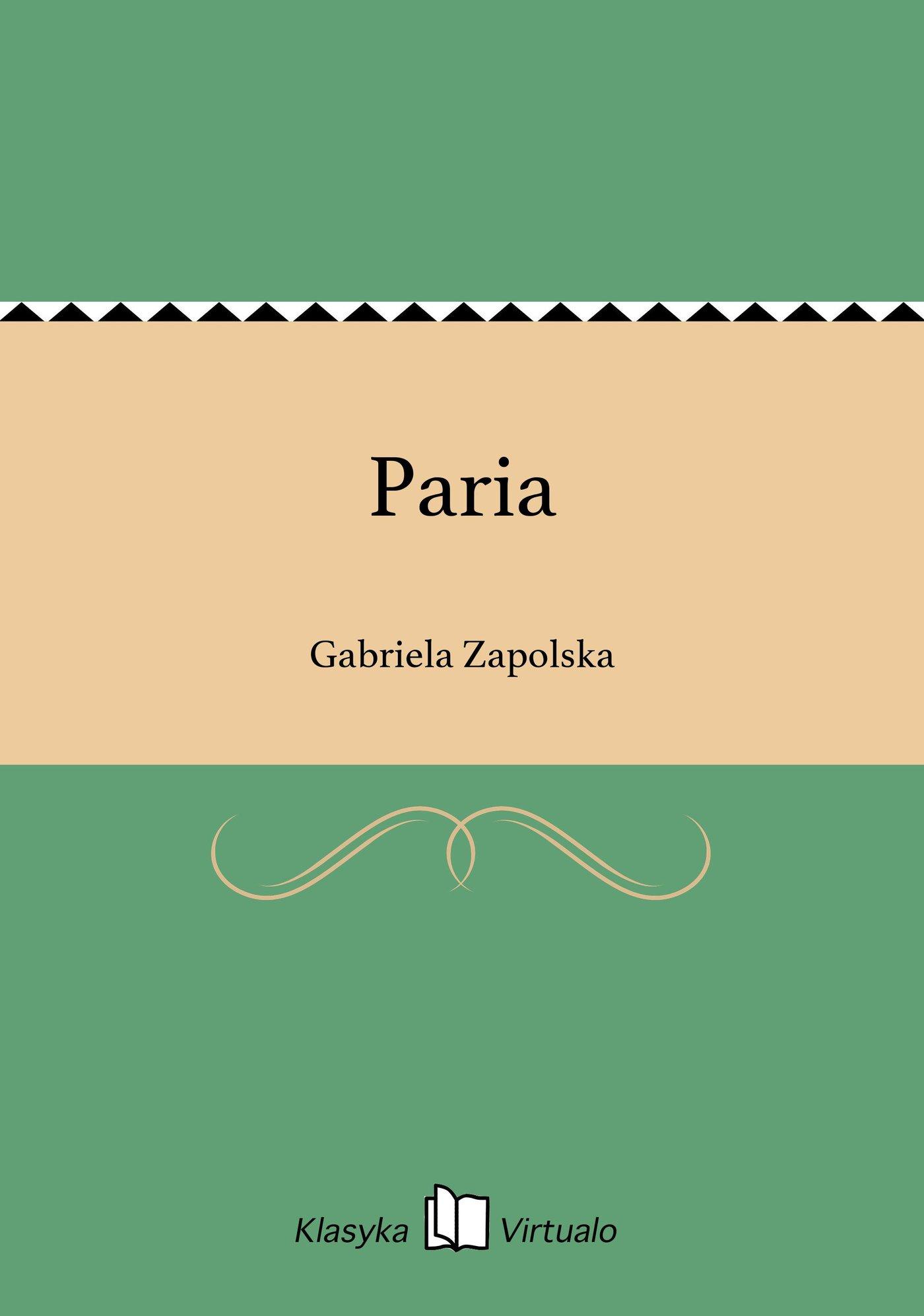 Paria - Ebook (Książka EPUB) do pobrania w formacie EPUB