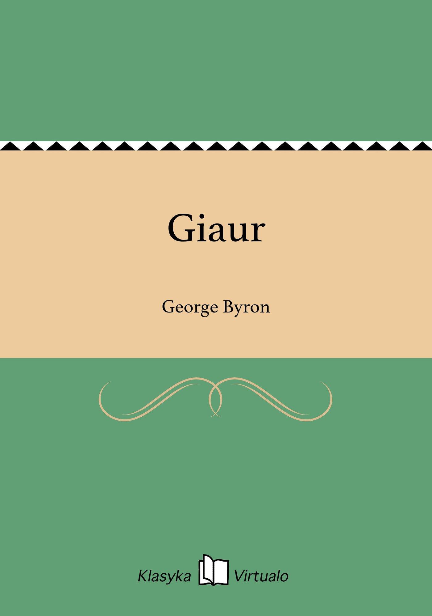 Giaur - Ebook (Książka EPUB) do pobrania w formacie EPUB