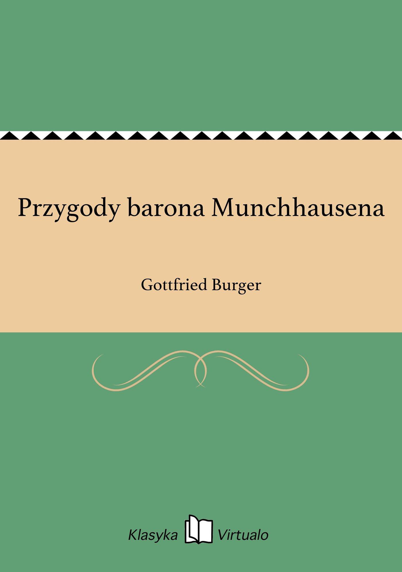 Przygody barona Munchhausena - Ebook (Książka EPUB) do pobrania w formacie EPUB