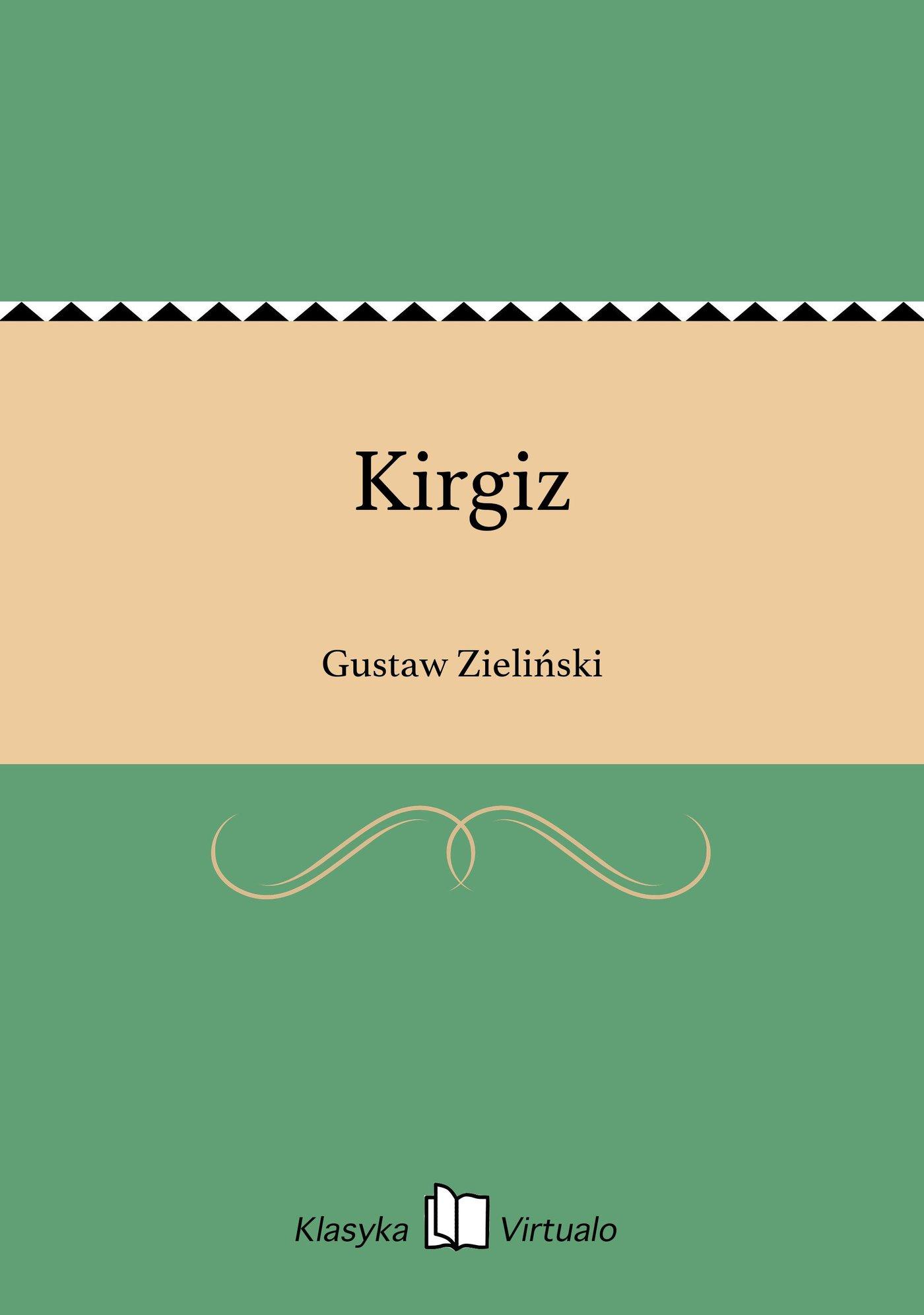 Kirgiz - Ebook (Książka EPUB) do pobrania w formacie EPUB