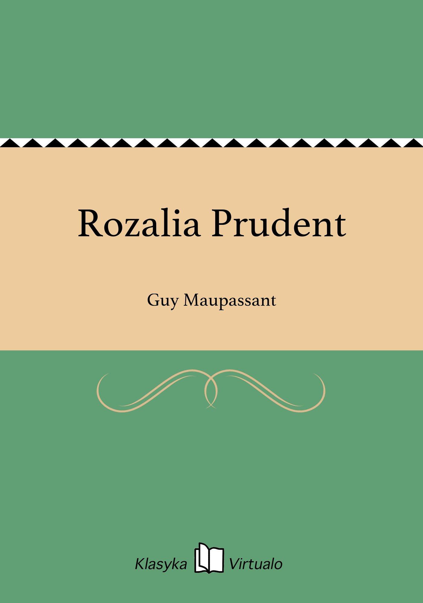 Rozalia Prudent - Ebook (Książka EPUB) do pobrania w formacie EPUB