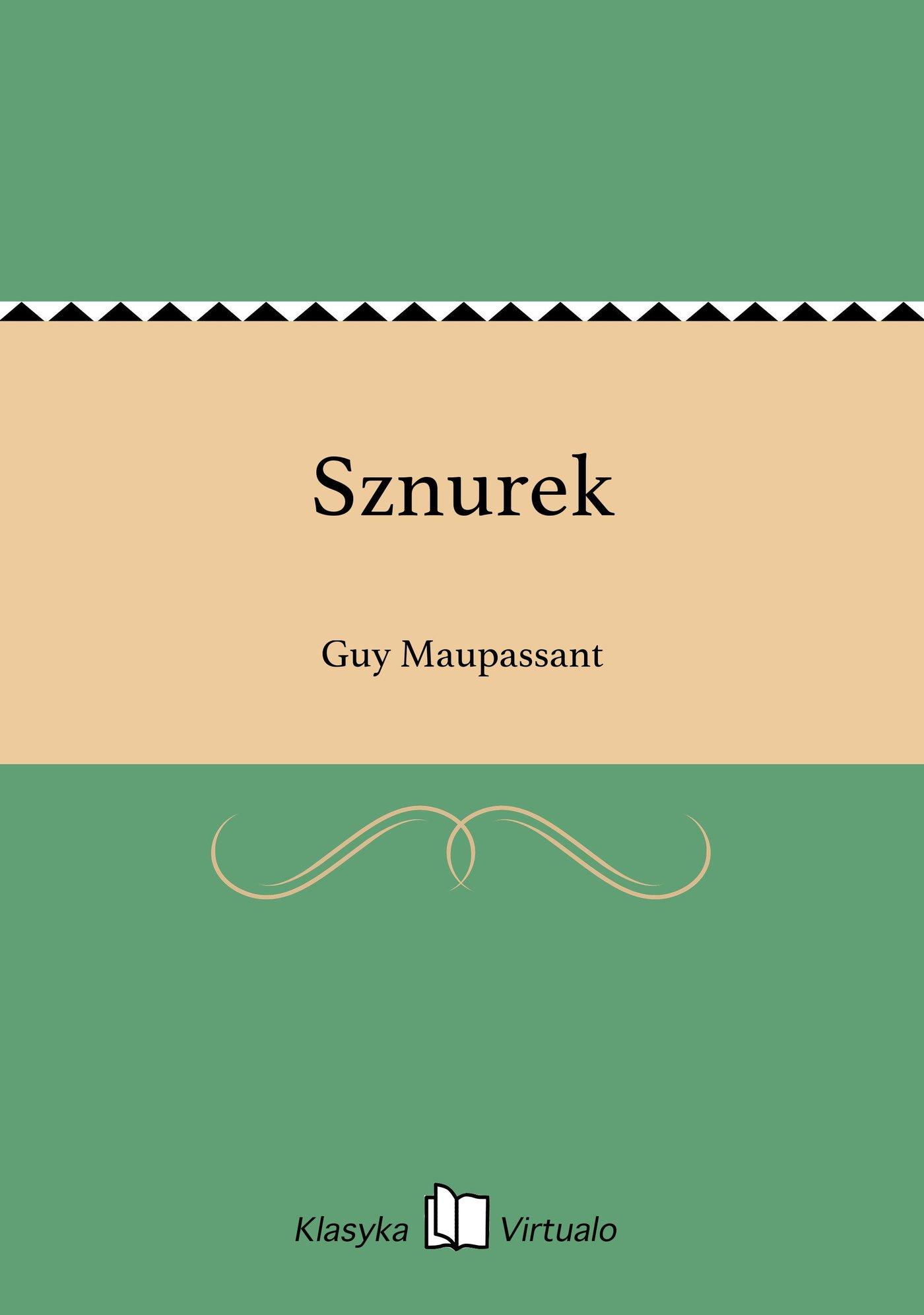 Sznurek - Ebook (Książka EPUB) do pobrania w formacie EPUB