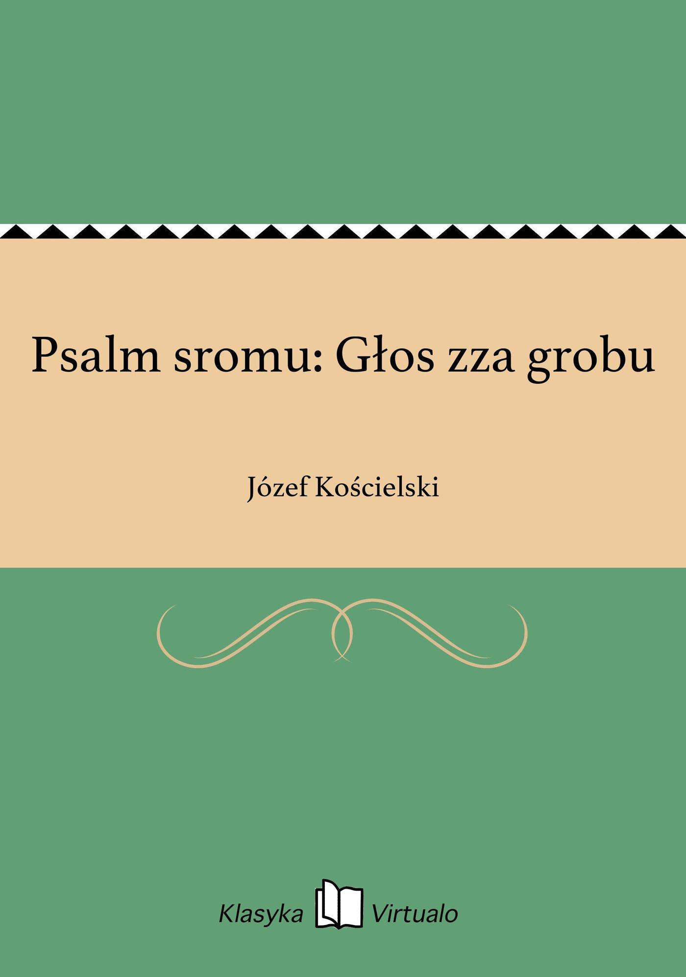 Psalm sromu: Głos zza grobu - Ebook (Książka EPUB) do pobrania w formacie EPUB