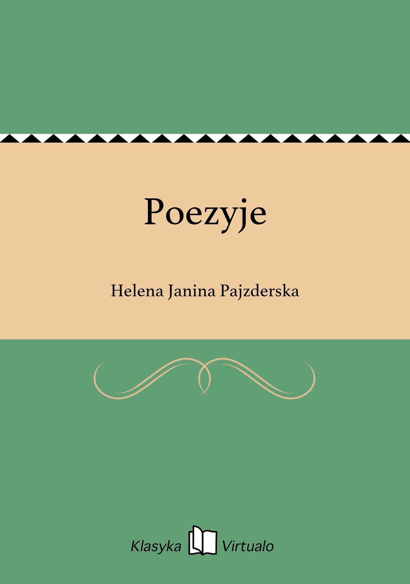 Poezyje - Ebook (Książka EPUB) do pobrania w formacie EPUB
