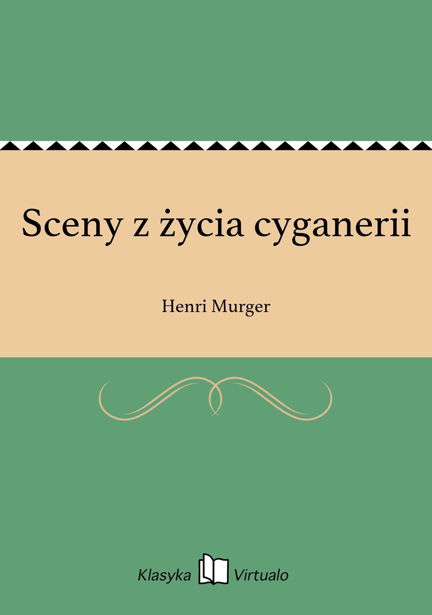 Sceny z życia cyganerii - Ebook (Książka EPUB) do pobrania w formacie EPUB