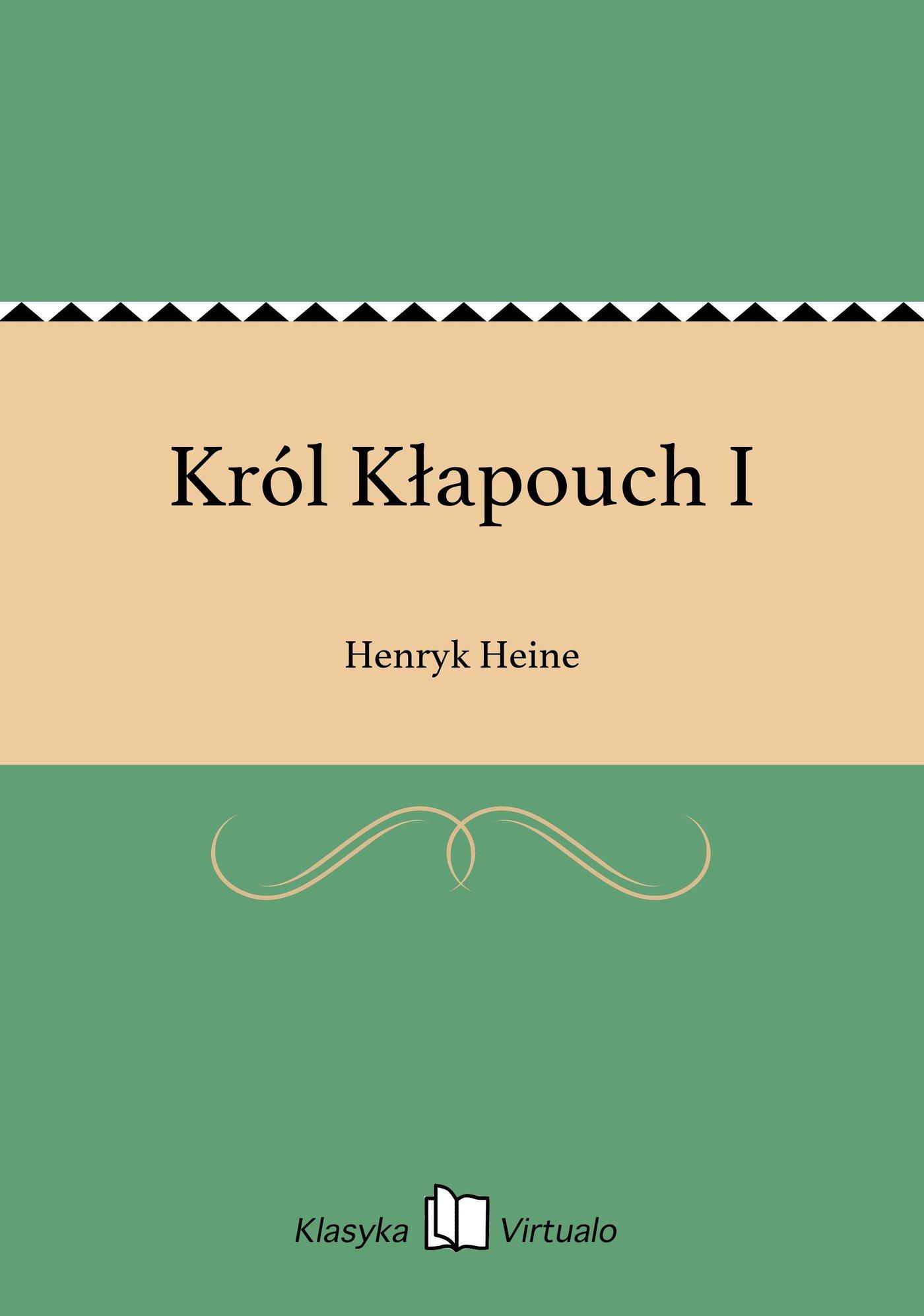 Król Kłapouch I - Ebook (Książka EPUB) do pobrania w formacie EPUB