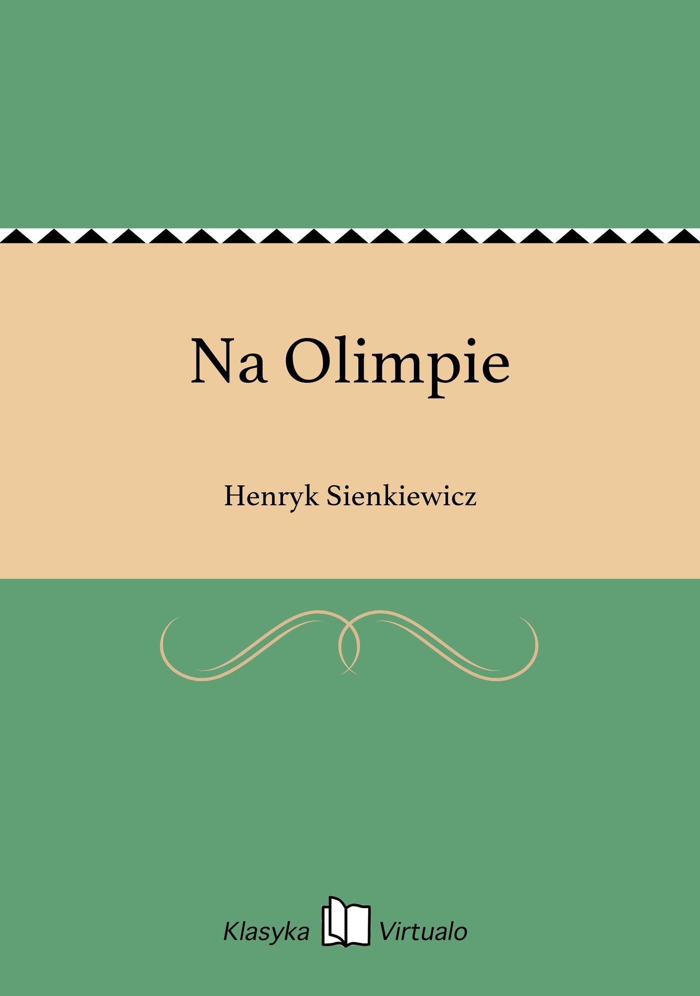 Na Olimpie - Ebook (Książka EPUB) do pobrania w formacie EPUB