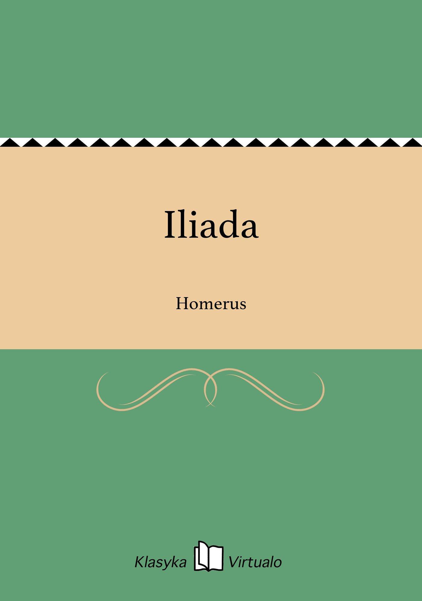 Iliada - Ebook (Książka EPUB) do pobrania w formacie EPUB