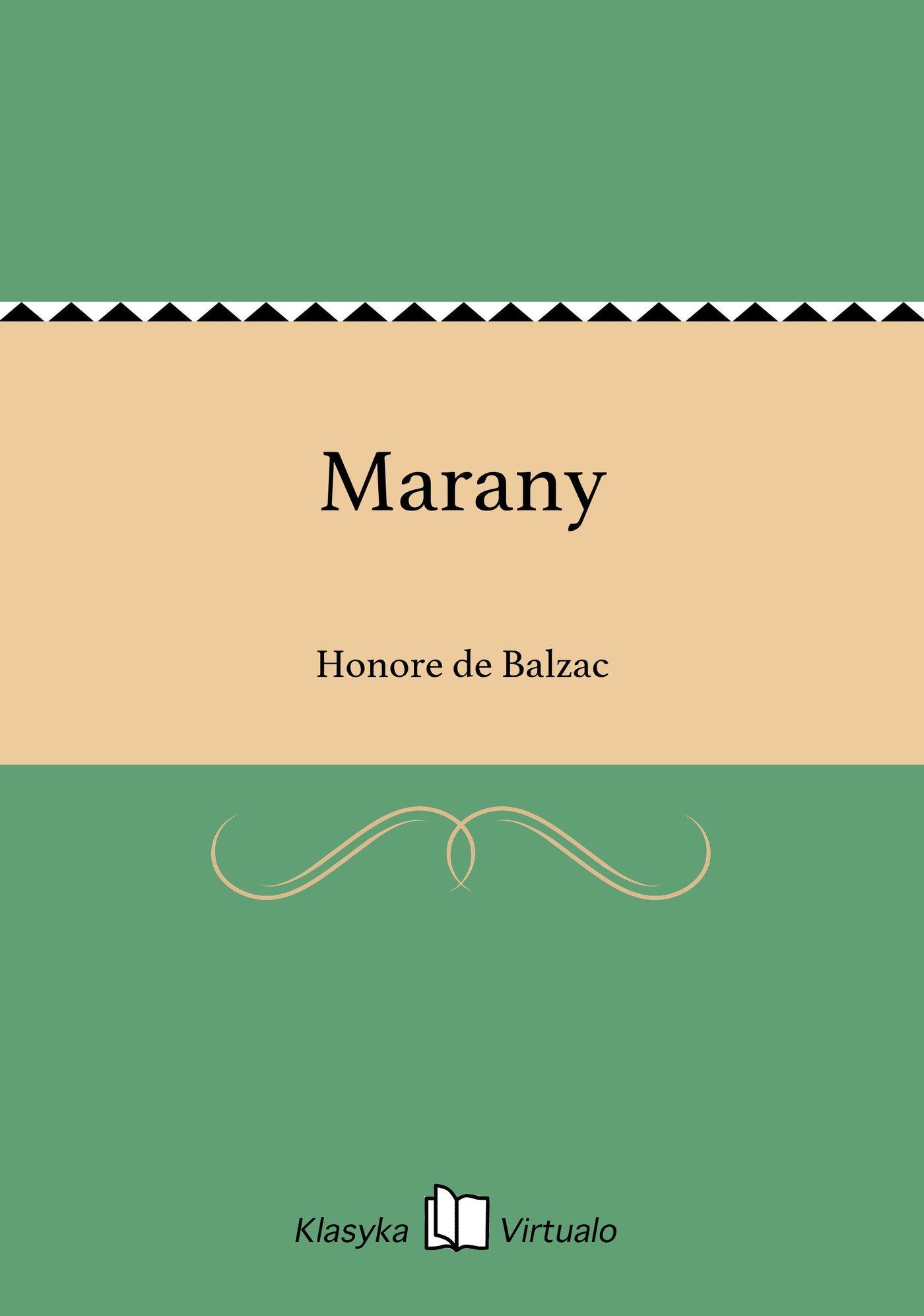 Marany - Ebook (Książka EPUB) do pobrania w formacie EPUB
