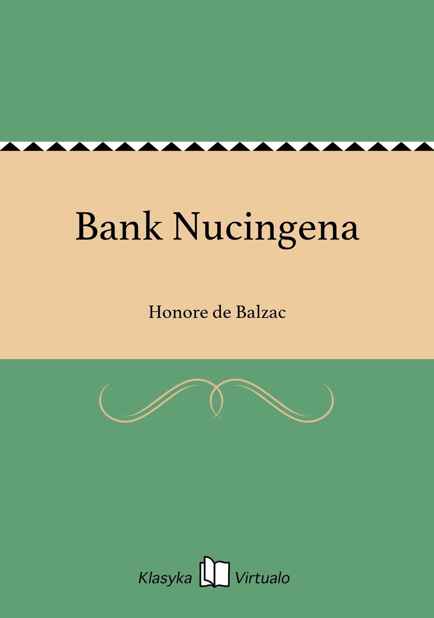 Bank Nucingena - Ebook (Książka EPUB) do pobrania w formacie EPUB