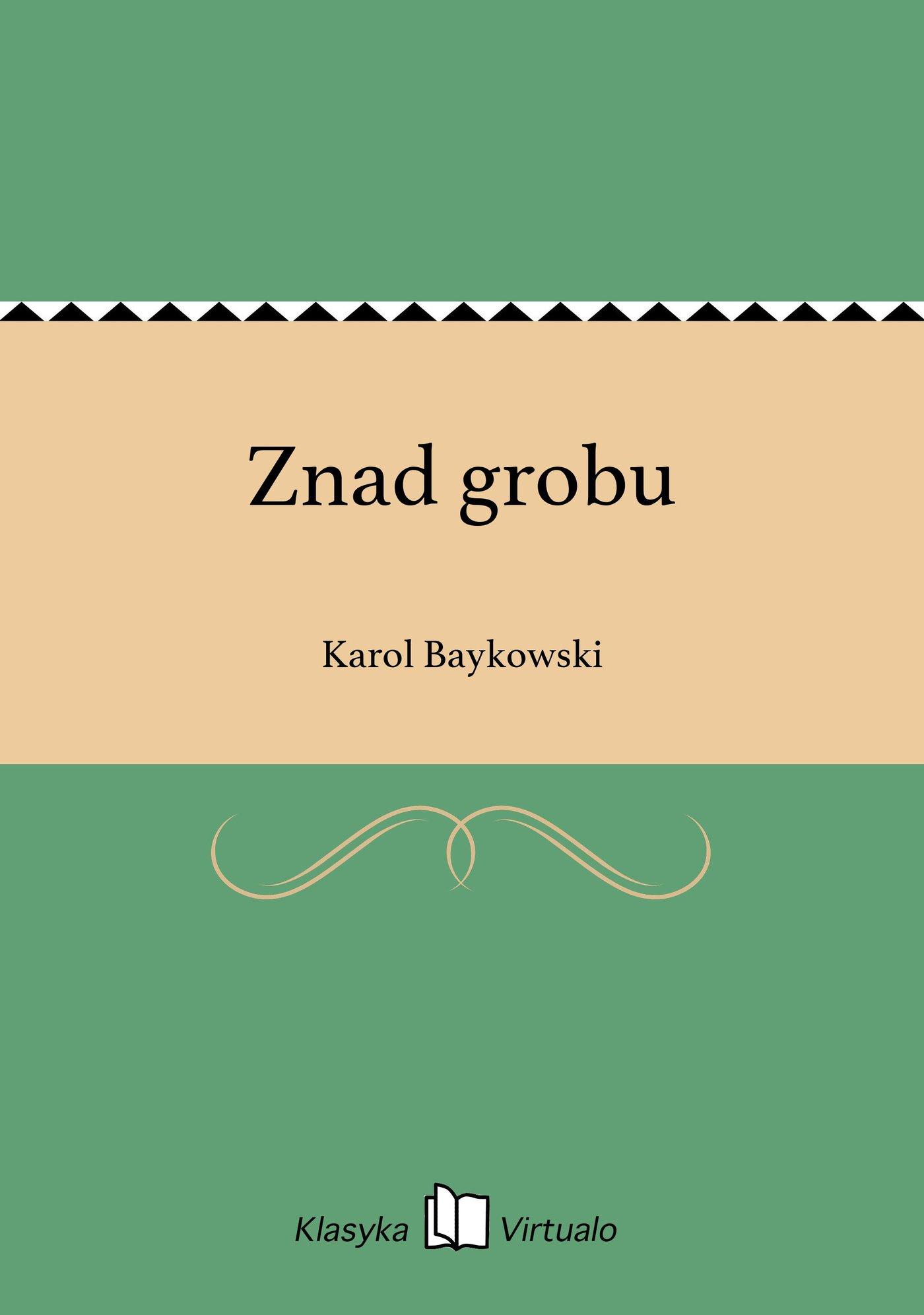 Znad grobu - Ebook (Książka EPUB) do pobrania w formacie EPUB