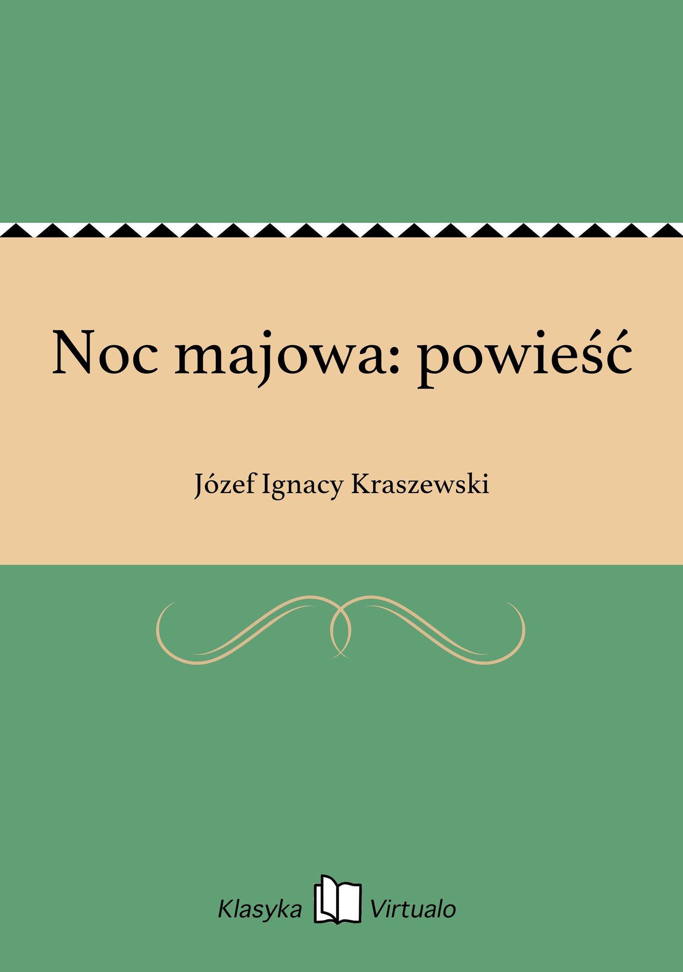 Noc majowa: powieść - Ebook (Książka EPUB) do pobrania w formacie EPUB
