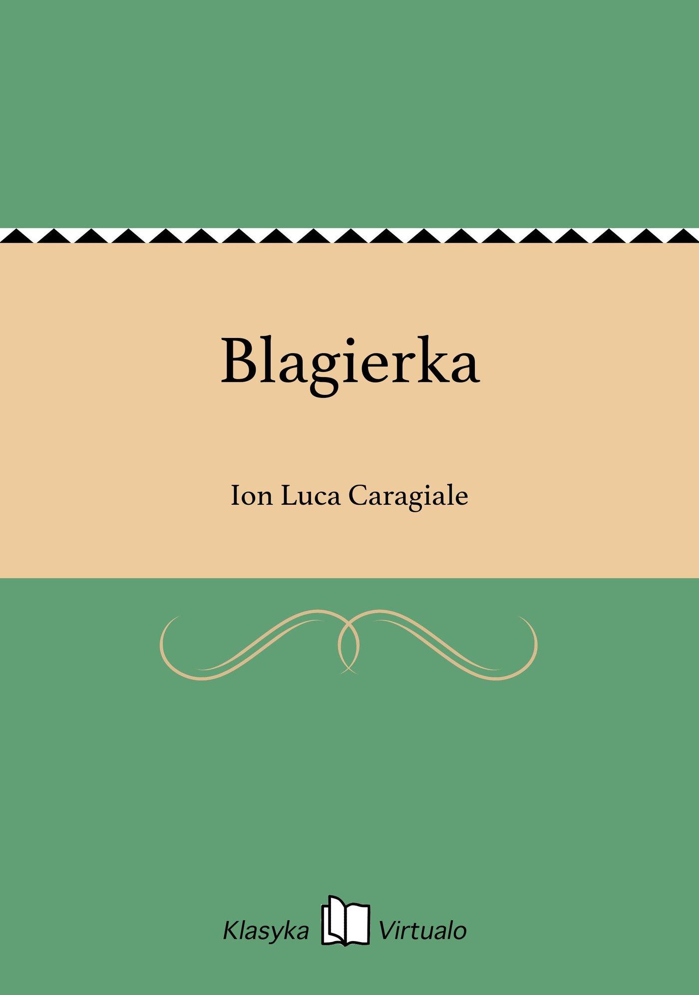 Blagierka - Ebook (Książka EPUB) do pobrania w formacie EPUB