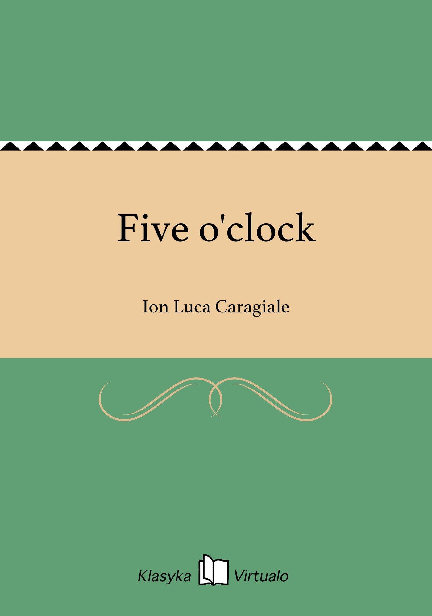Five o'clock - Ebook (Książka EPUB) do pobrania w formacie EPUB
