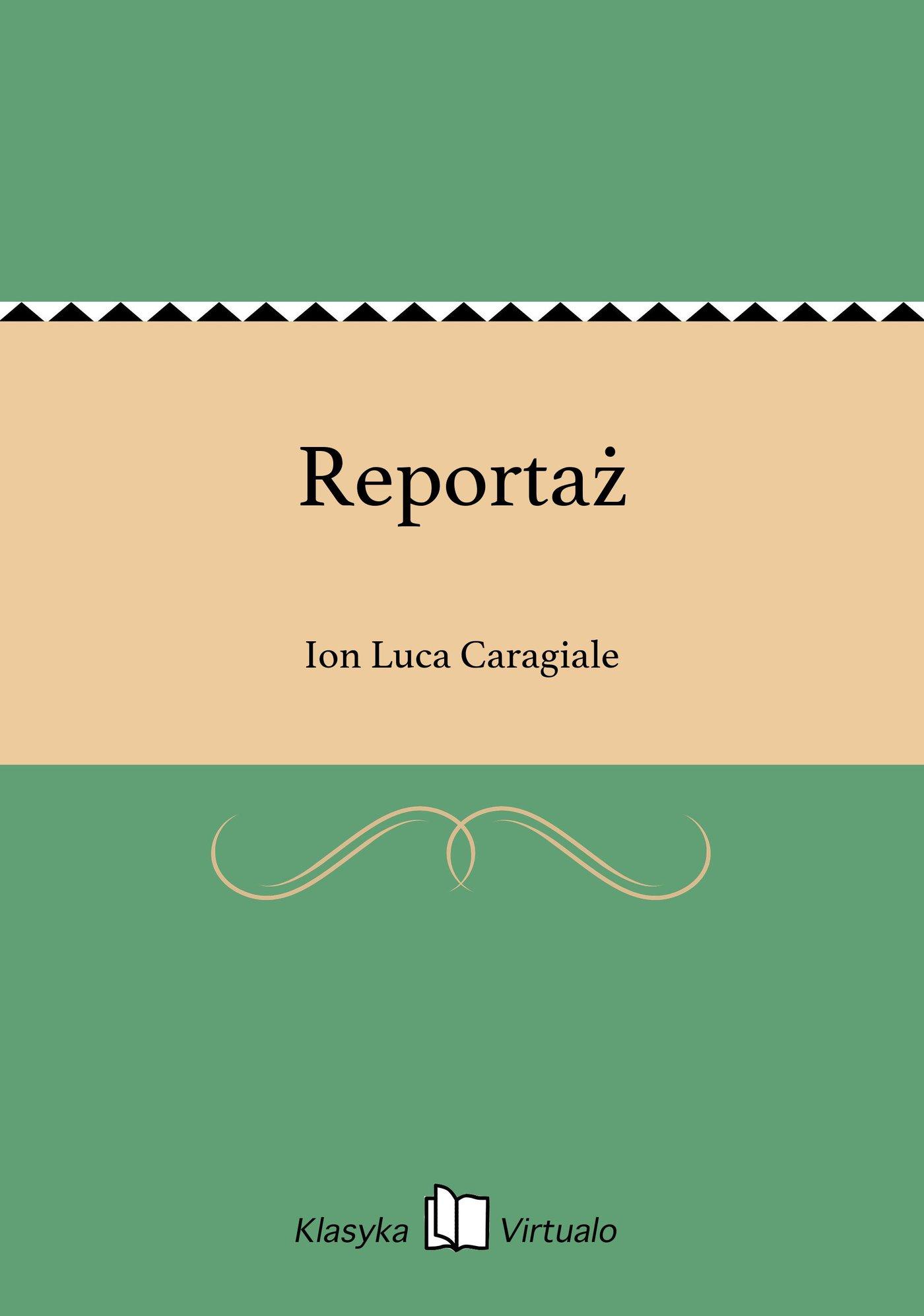 Reportaż - Ebook (Książka EPUB) do pobrania w formacie EPUB