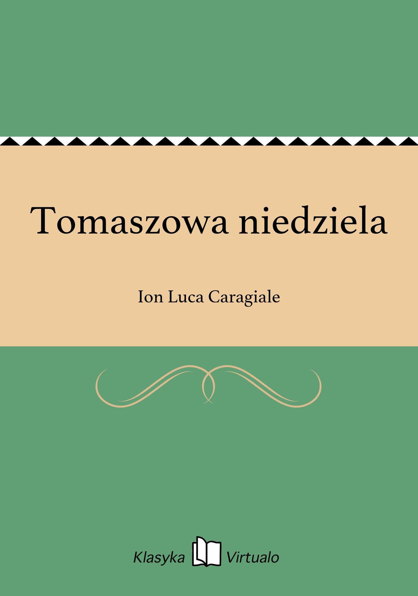 Tomaszowa niedziela - Ebook (Książka EPUB) do pobrania w formacie EPUB