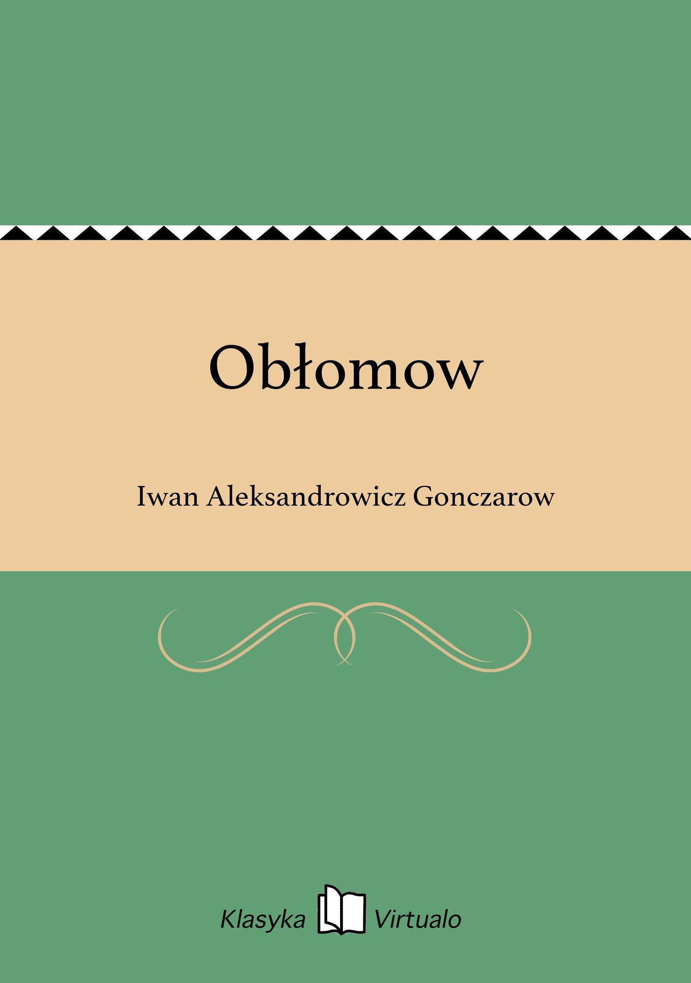 Obłomow - Ebook (Książka EPUB) do pobrania w formacie EPUB