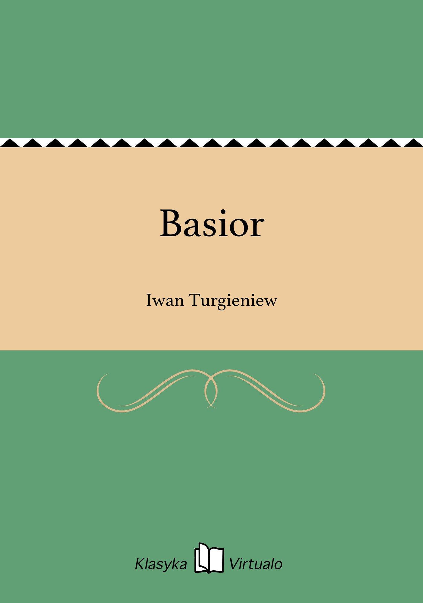 Basior - Ebook (Książka EPUB) do pobrania w formacie EPUB