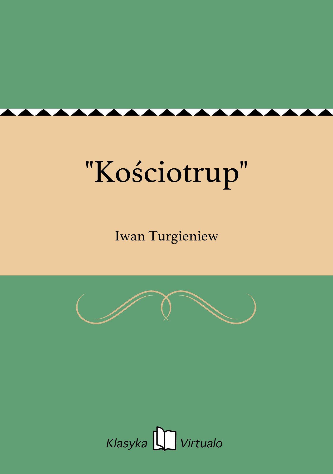 """""""Kościotrup"""" - Ebook (Książka EPUB) do pobrania w formacie EPUB"""