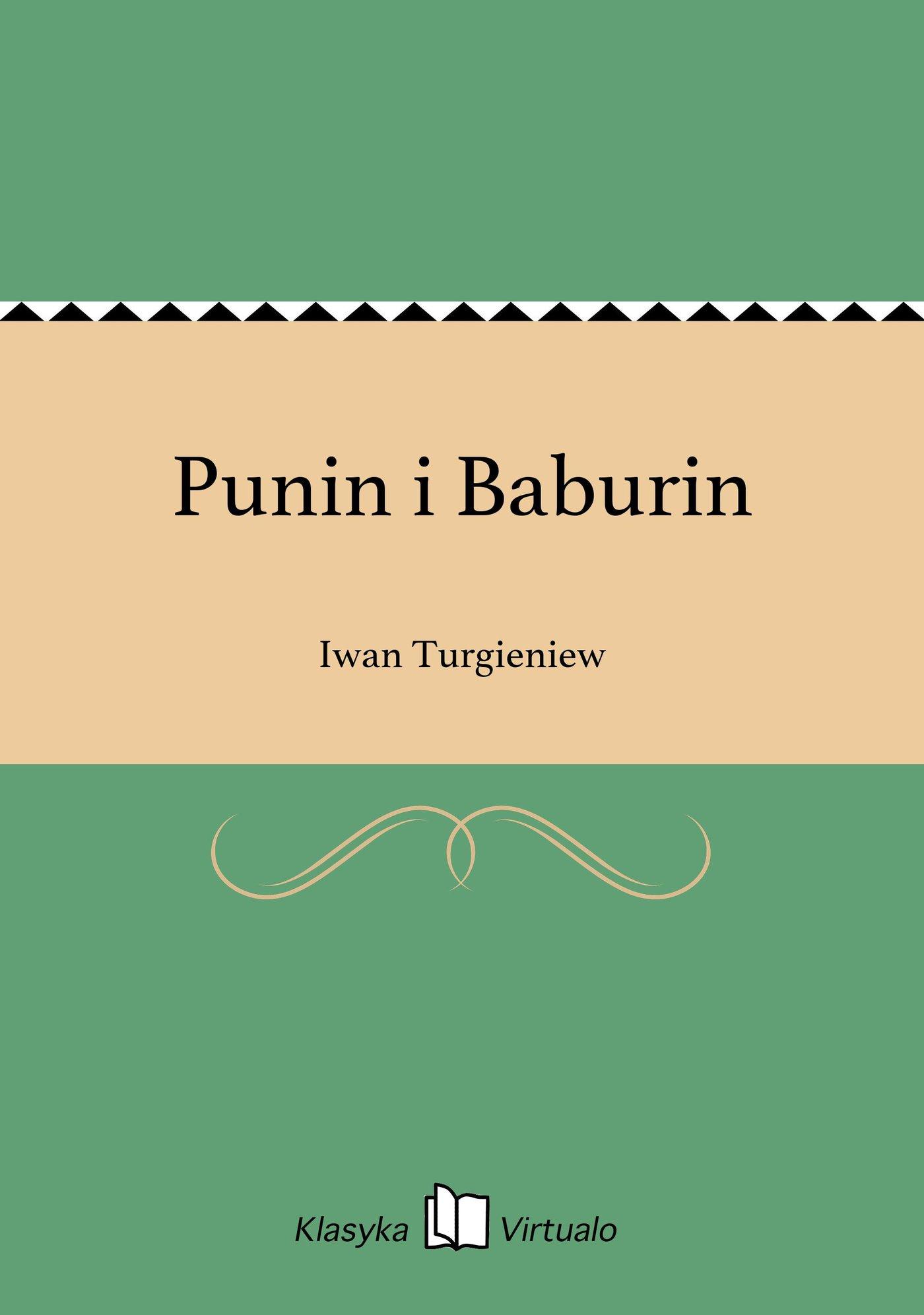 Punin i Baburin - Ebook (Książka EPUB) do pobrania w formacie EPUB