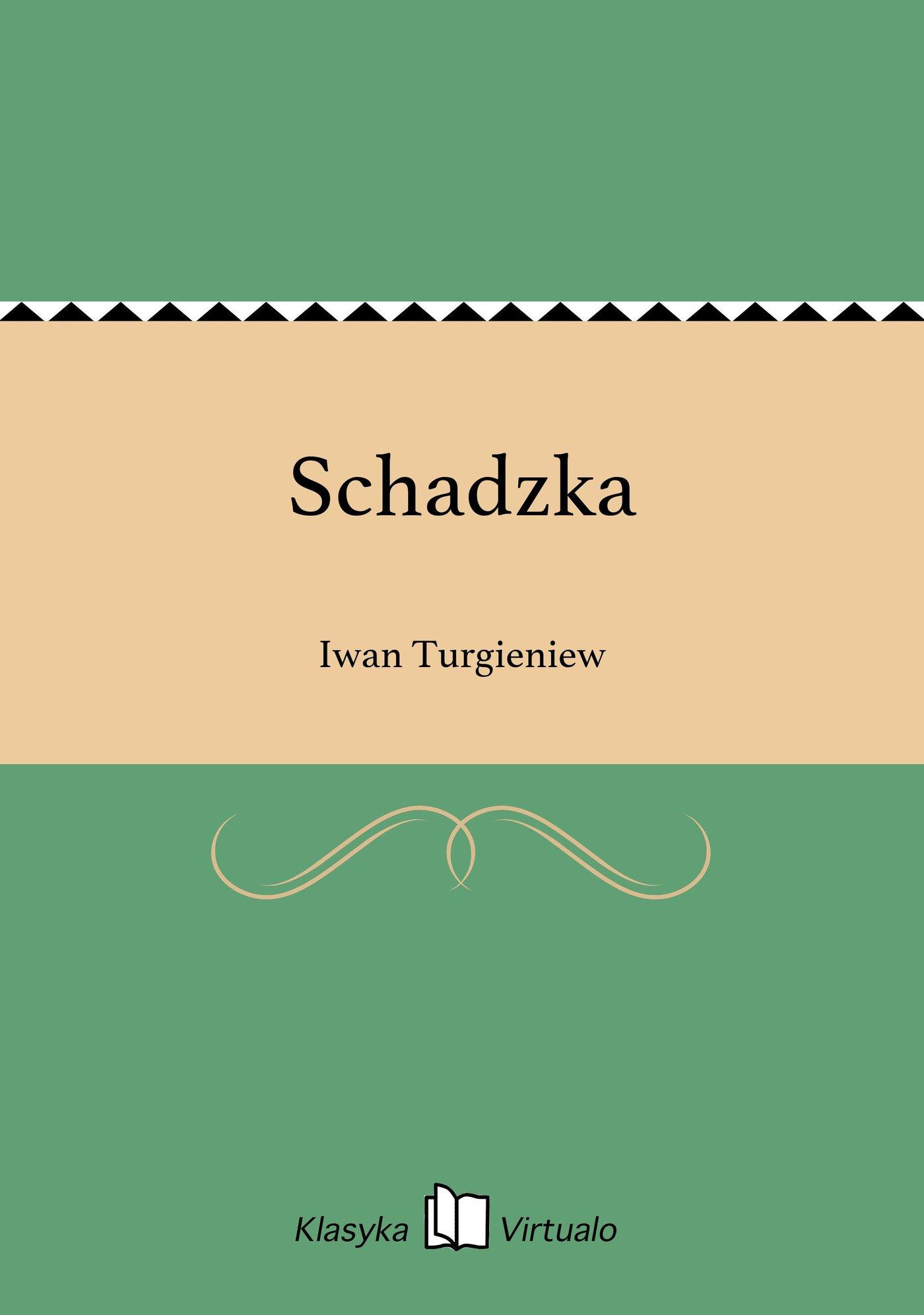 Schadzka - Ebook (Książka EPUB) do pobrania w formacie EPUB