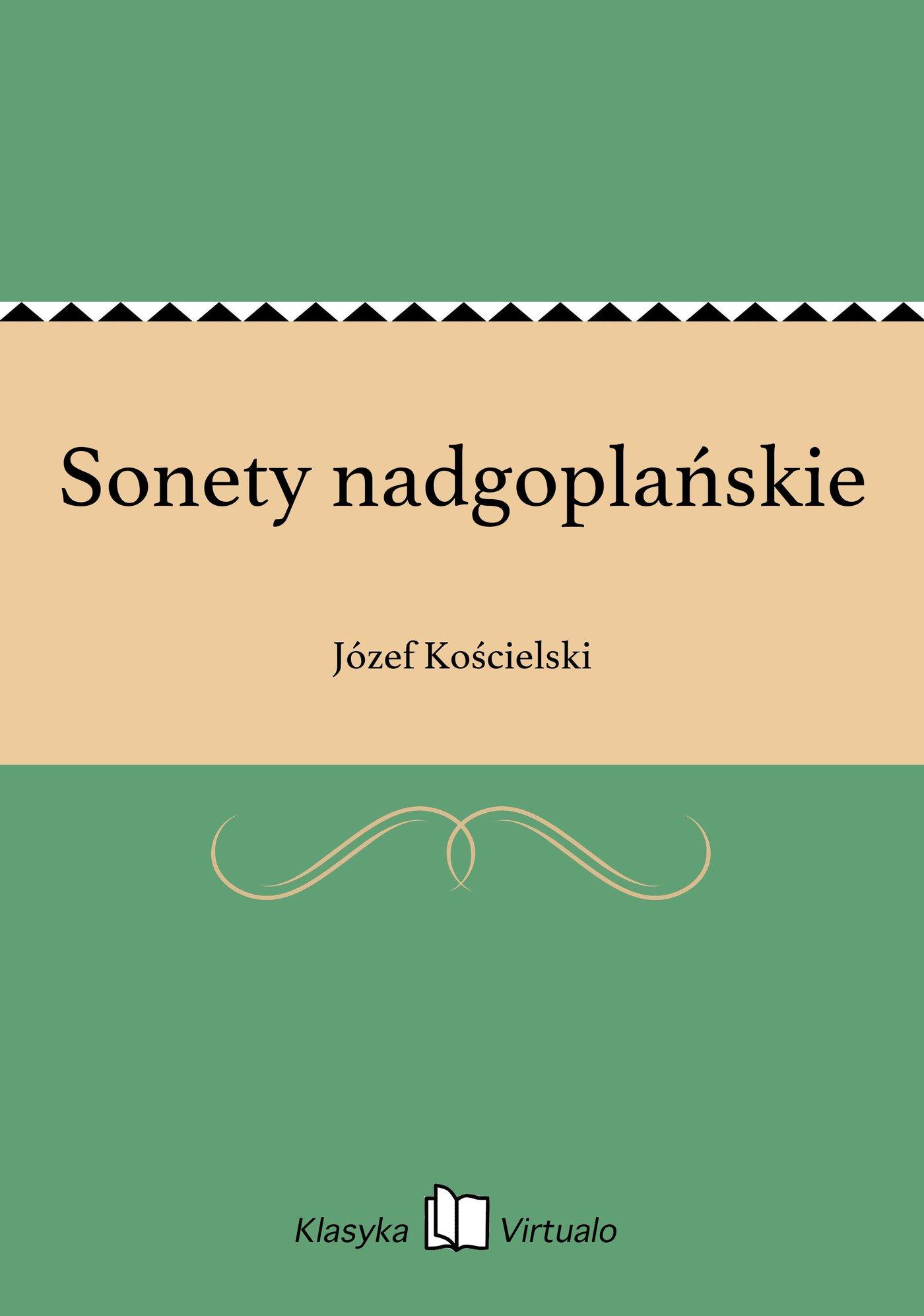 Sonety nadgoplańskie - Ebook (Książka EPUB) do pobrania w formacie EPUB