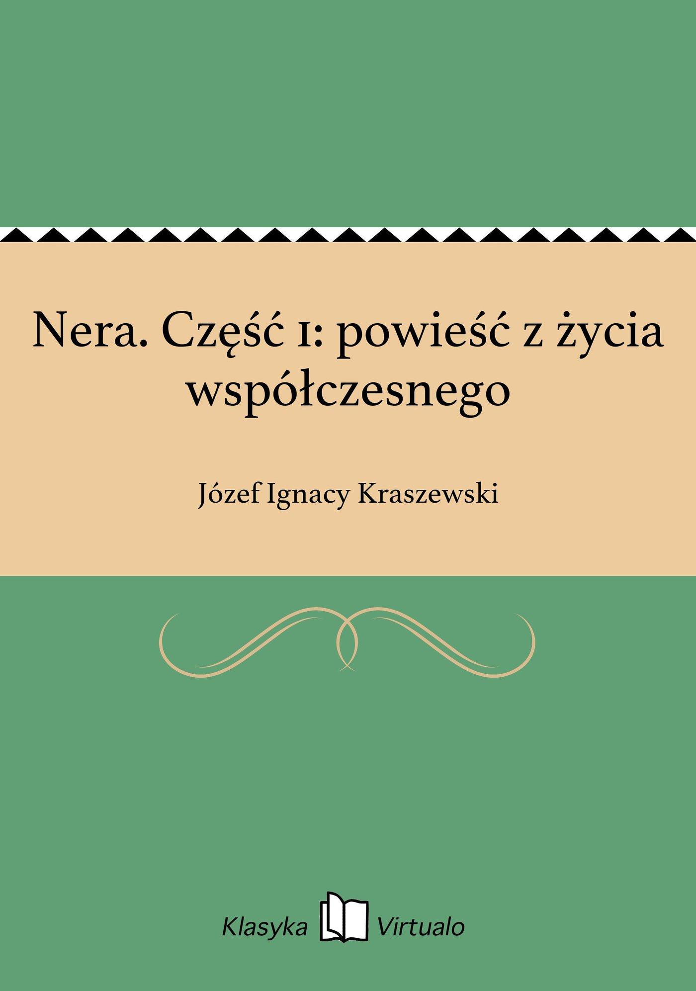 Nera. Część 1: powieść z życia współczesnego - Ebook (Książka EPUB) do pobrania w formacie EPUB