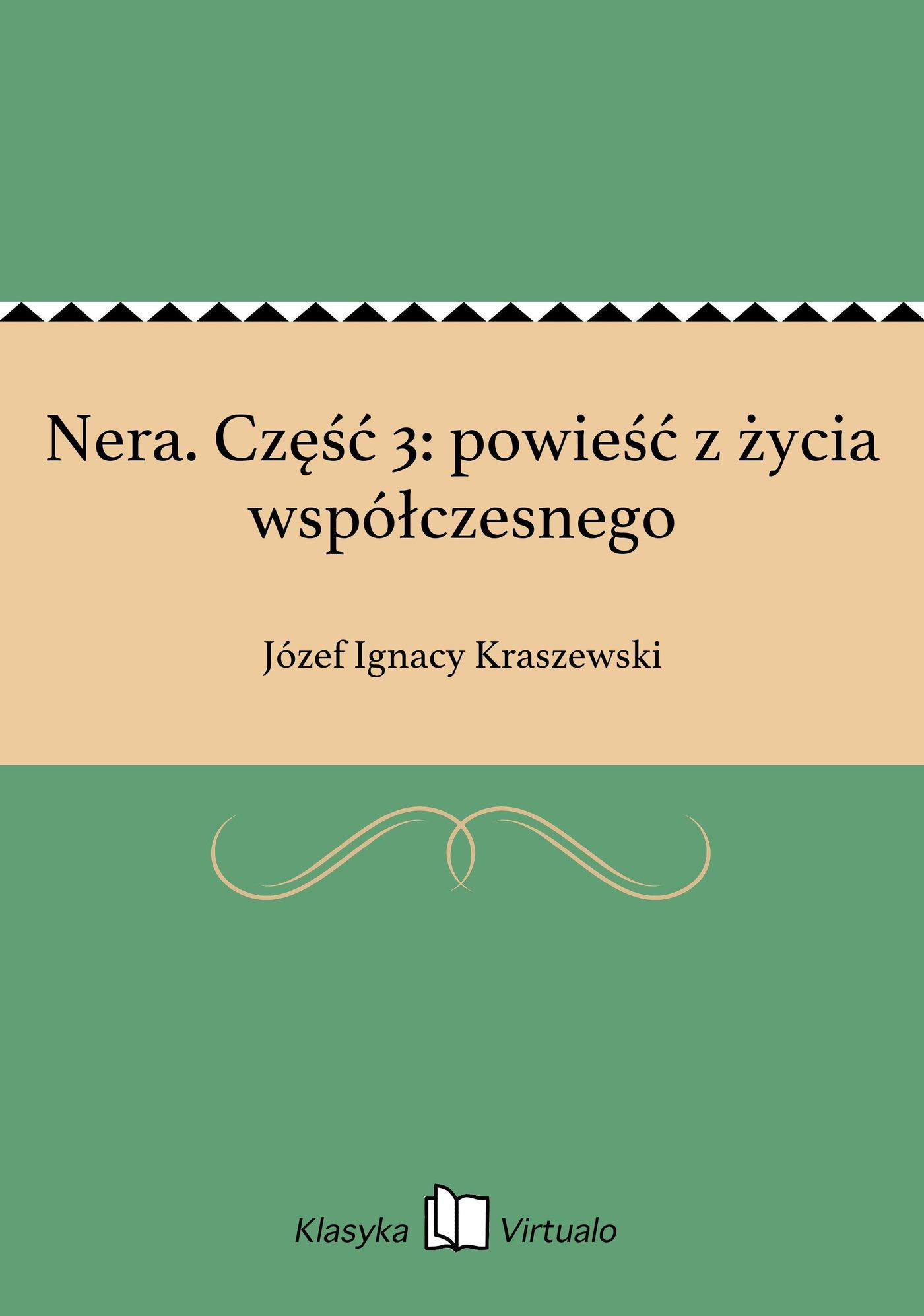 Nera. Część 3: powieść z życia współczesnego - Ebook (Książka EPUB) do pobrania w formacie EPUB